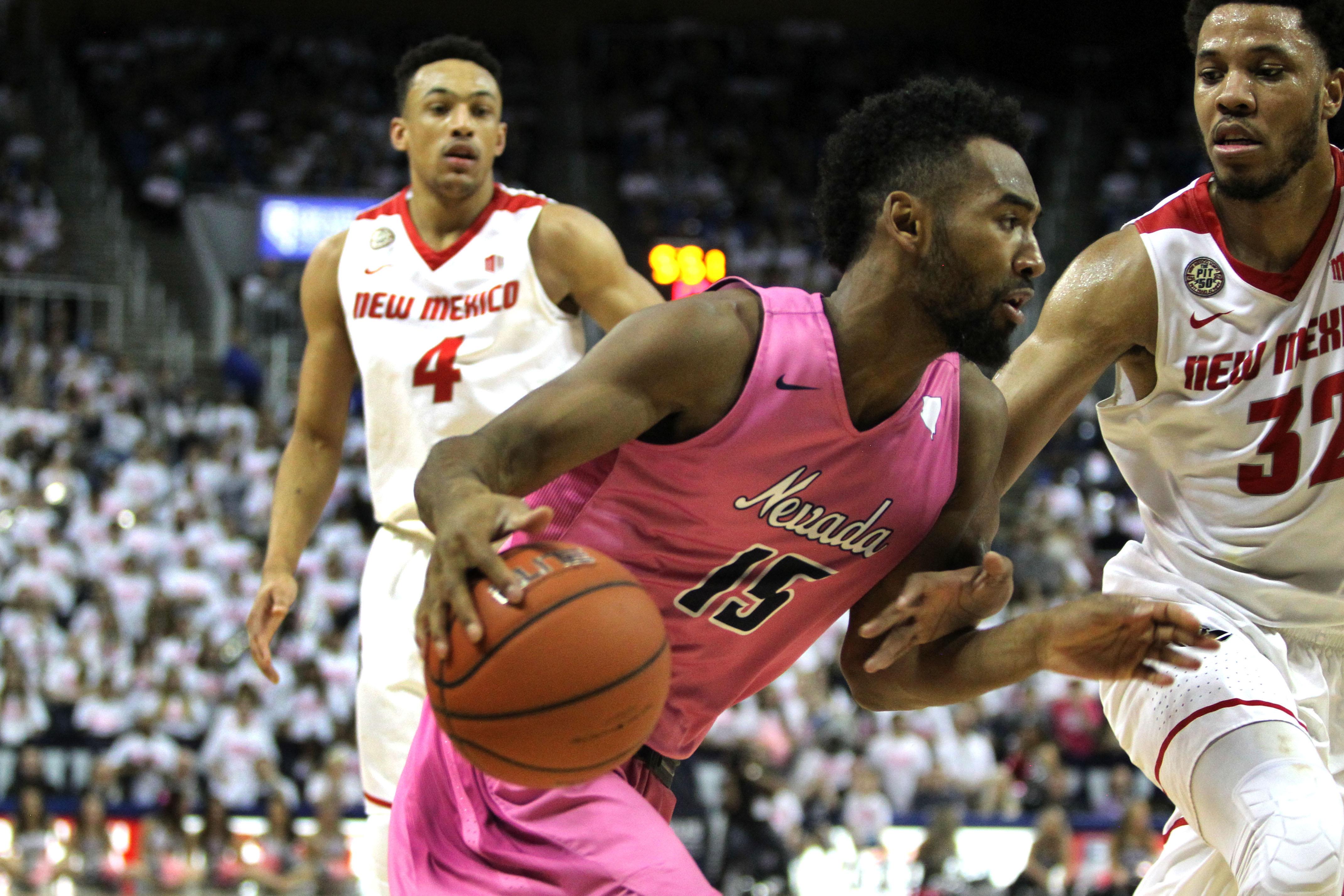NCAA Basketball: New Mexico at Nevada