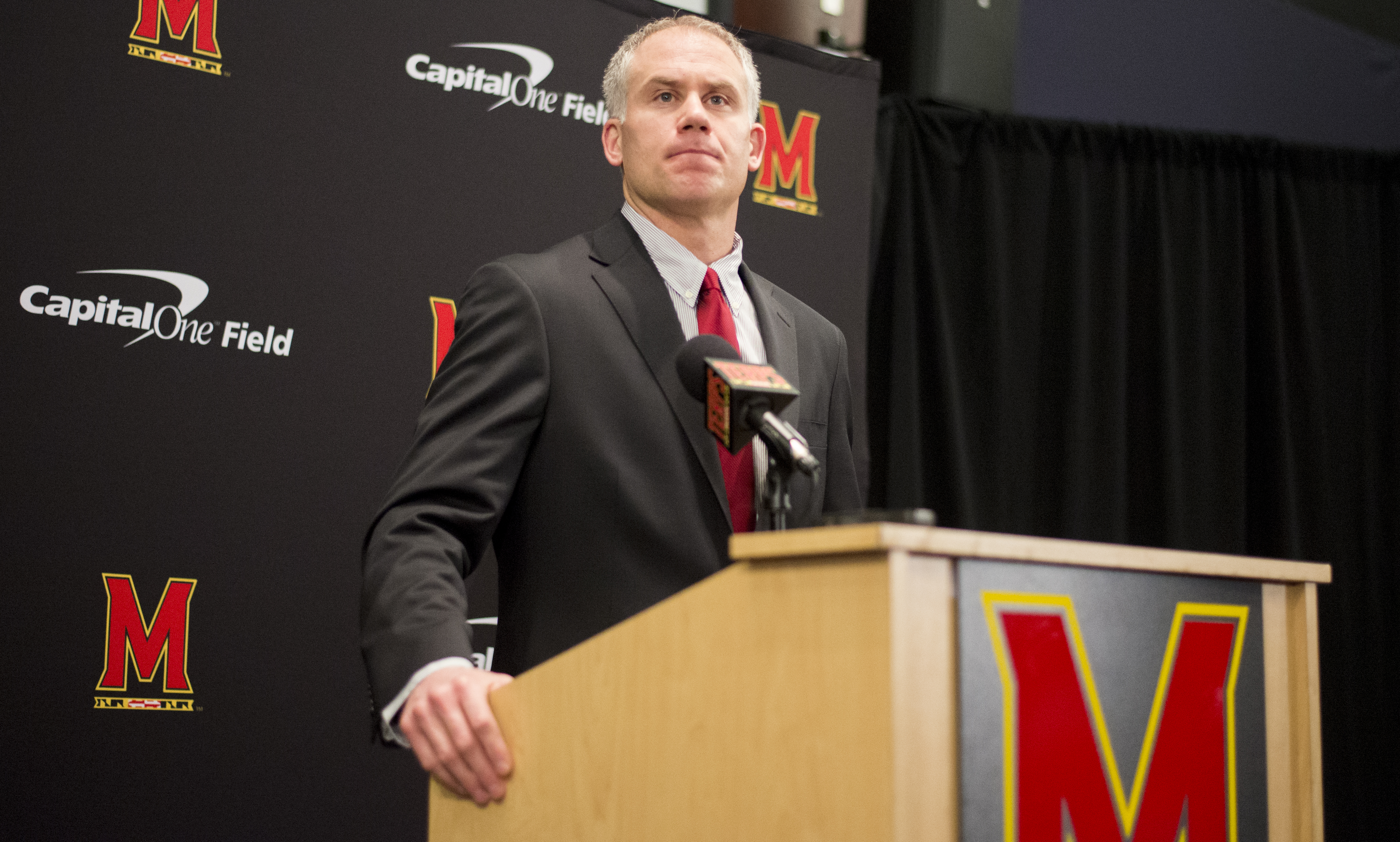 National Signing Day 2016: Photos from DJ Durkin's Maryland presser