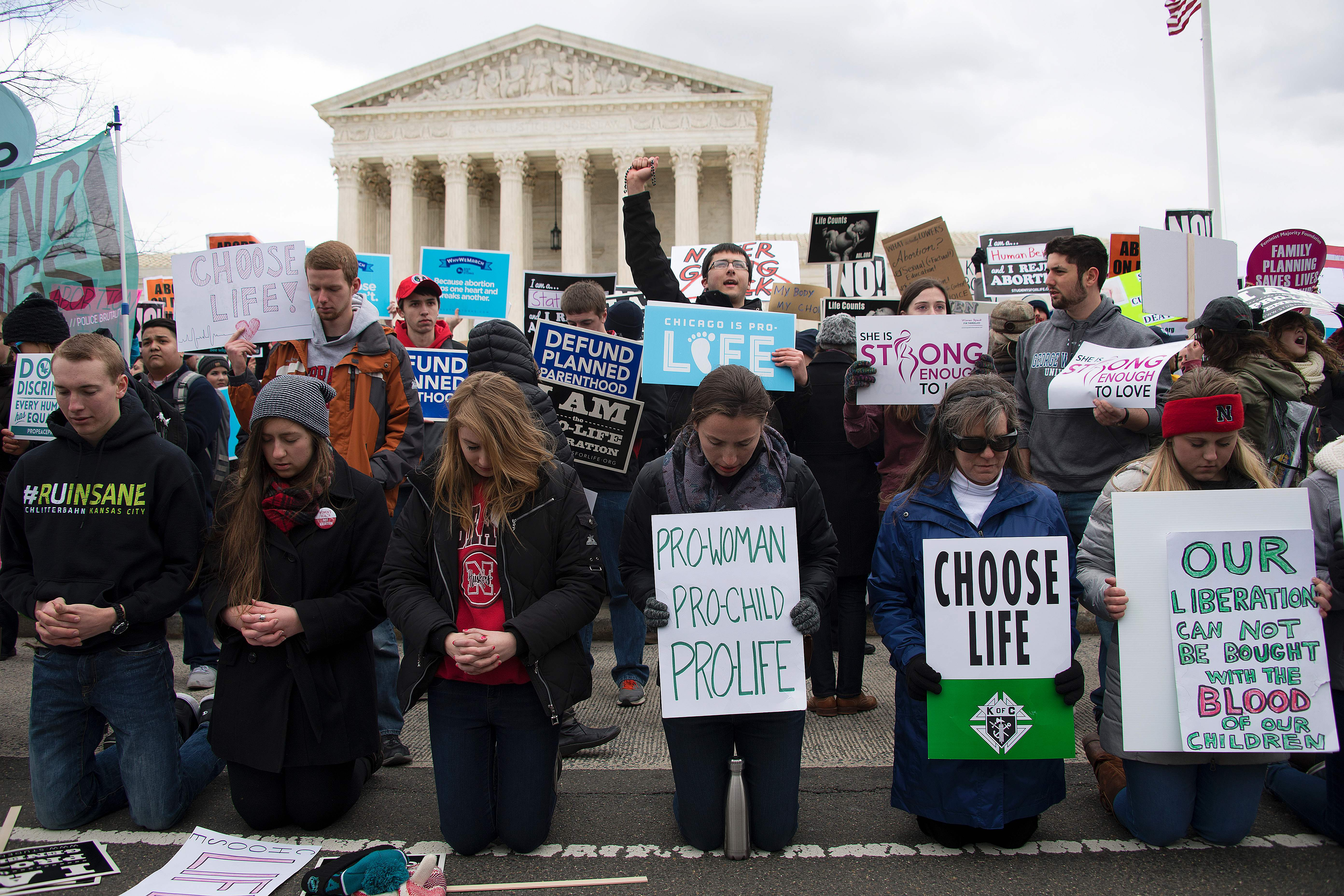 People criticize pro-lifers for focusing so much on abortion. But there's a reason we do.