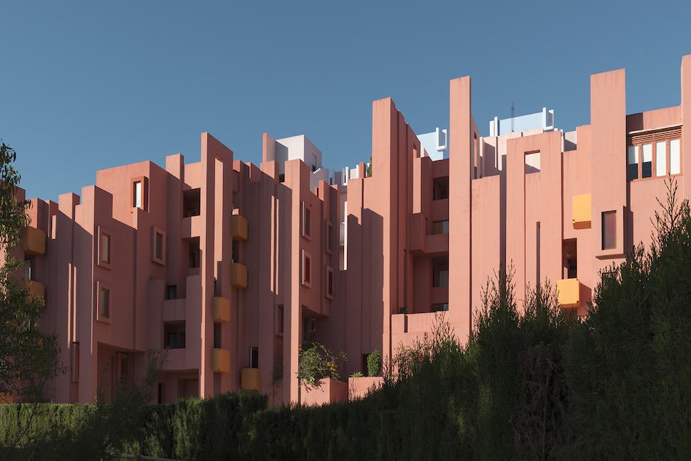 La Muralla Roja in Spain