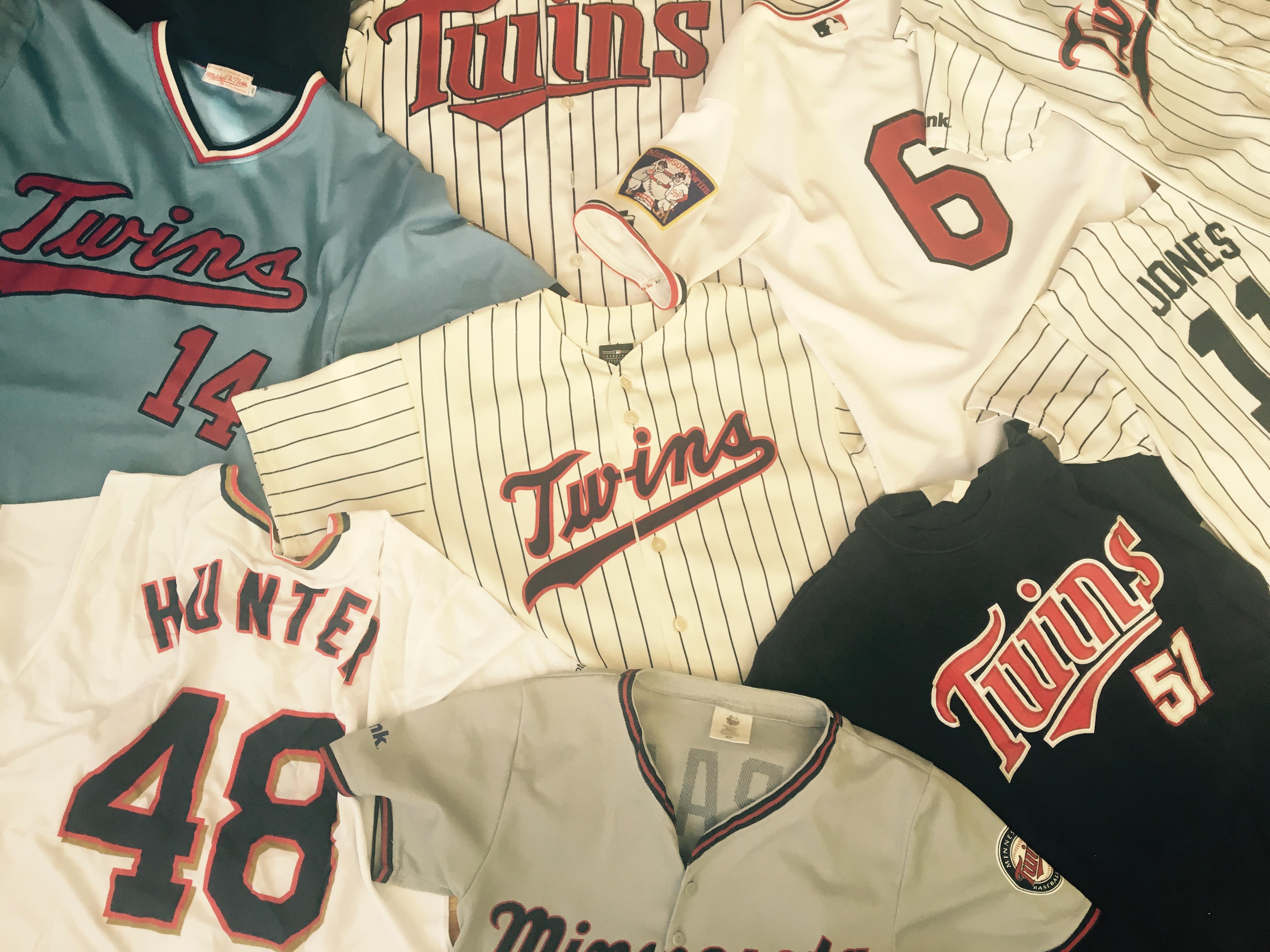 A small sample of jerseys and shirseys.