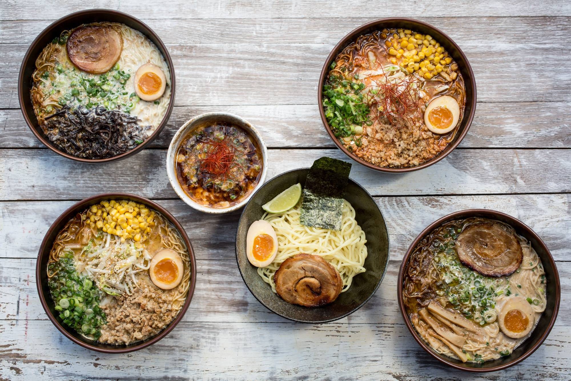 Ramen Tatsu-ya's ramen and more