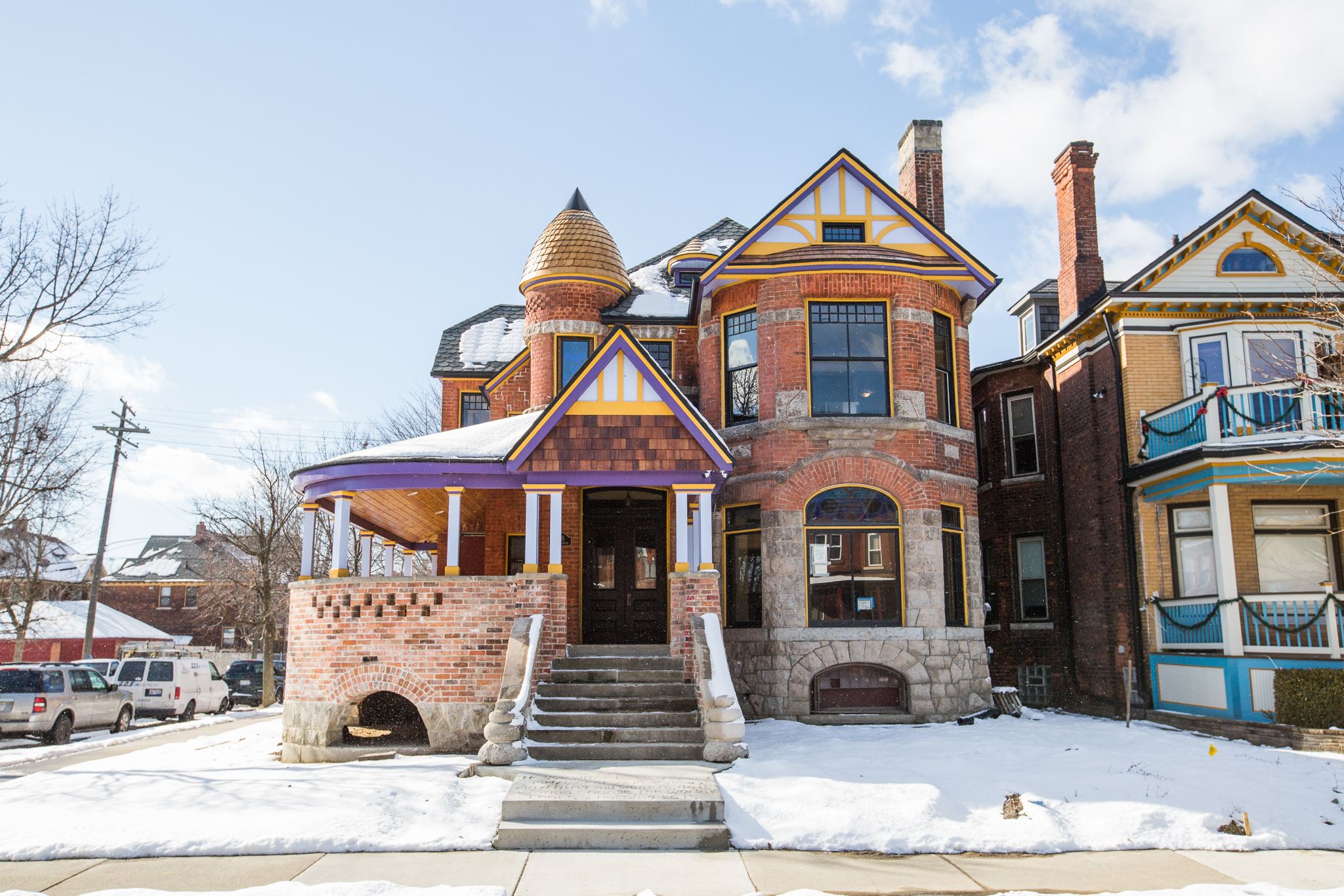 detroit renovations curbed detroit 50 years vacant the j d baer house is finally ready for new tenants