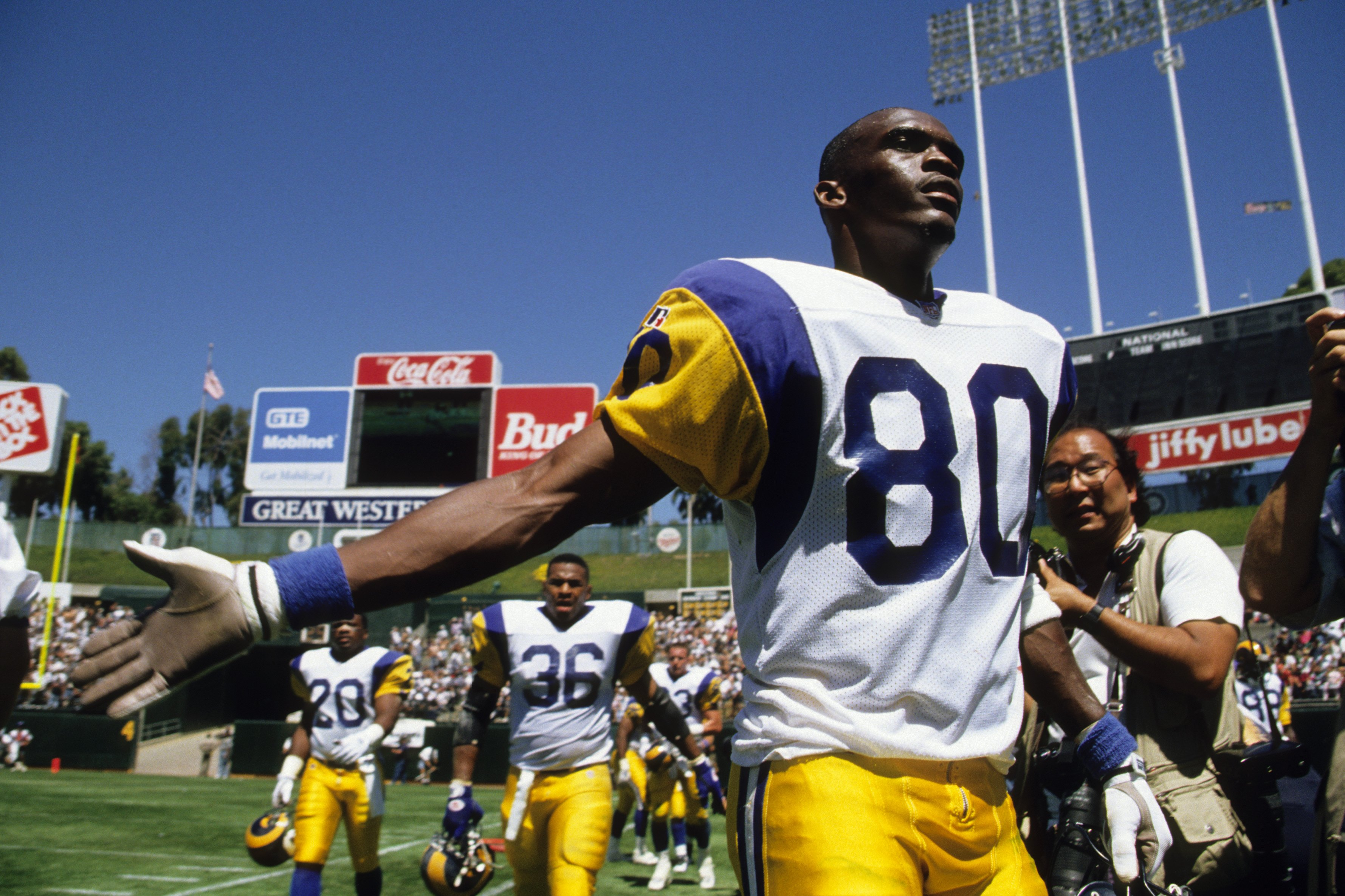 Former Rams WR Isaac Bruce