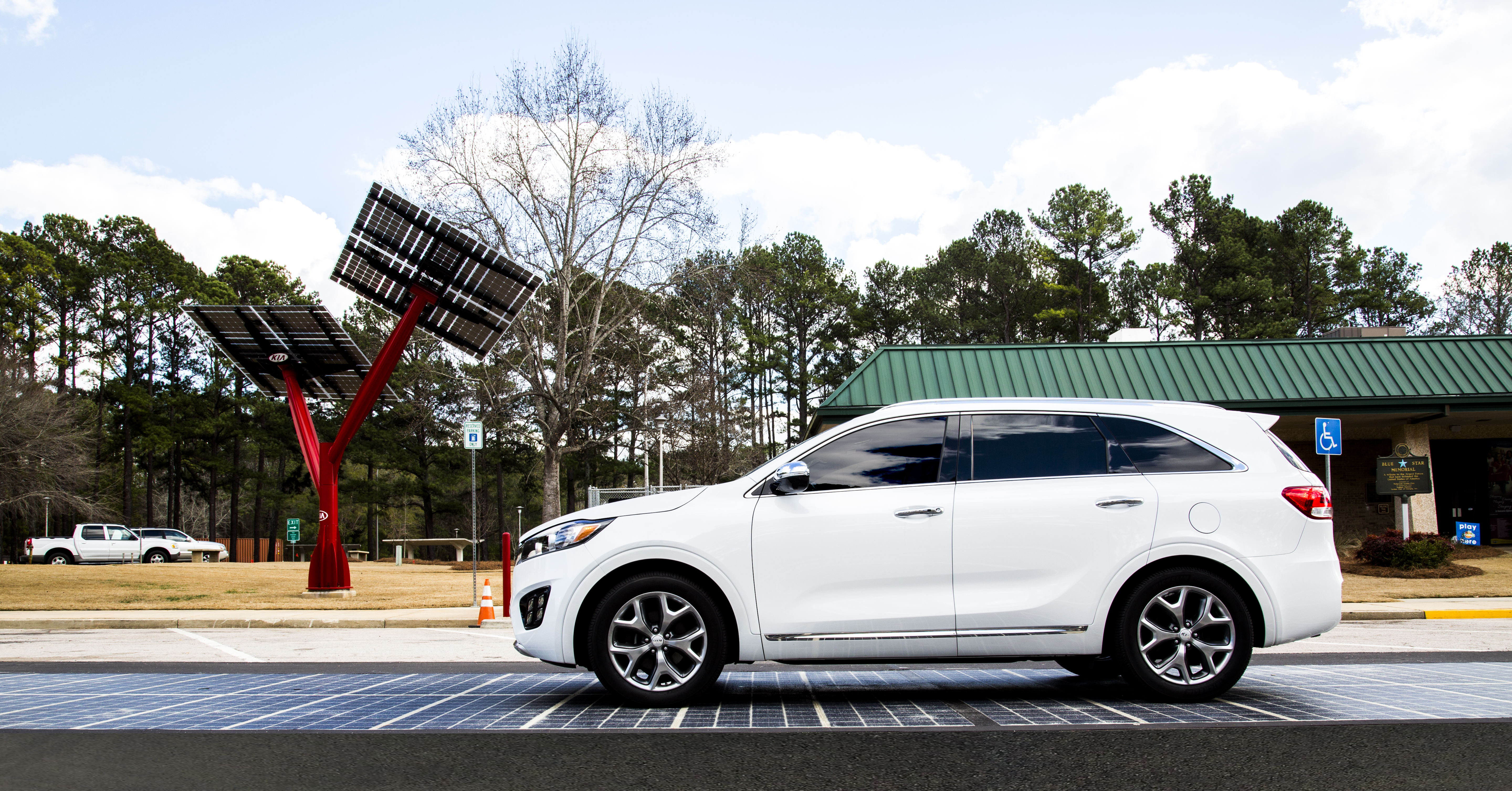 In rural Georgia, tomorrow's smart, sustainable, solar highway is being built today