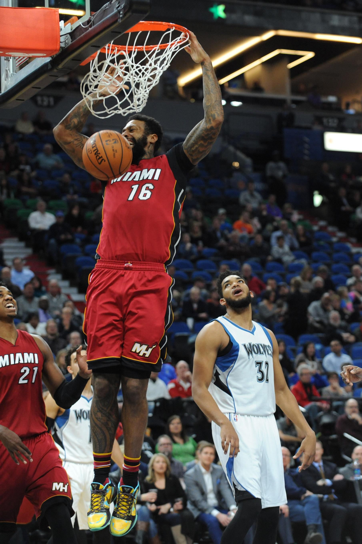 NBA: Miami Heat at Minnesota Timberwolves