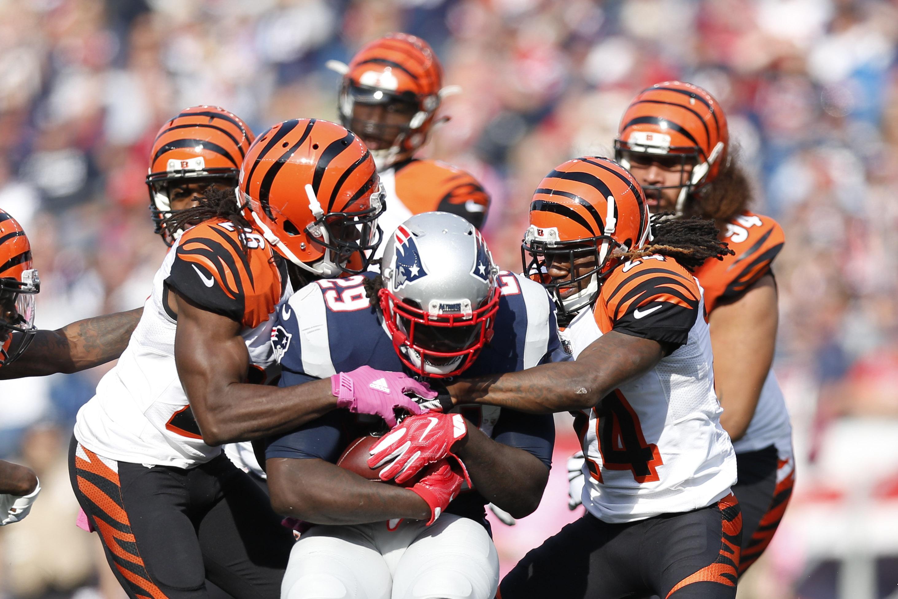 NFL: Cincinnati Bengals at New England Patriots