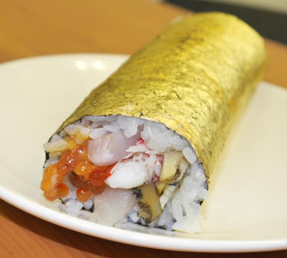 Goldleaf sushi
