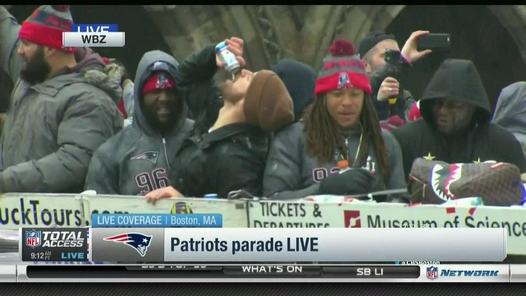 Patriots Cope With Bostons Zero Tolerance Public Drinking Ban By Drinking In Public