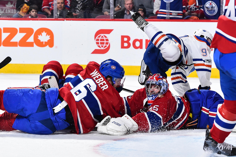 Edmonton Oilers v Montreal Canadiens