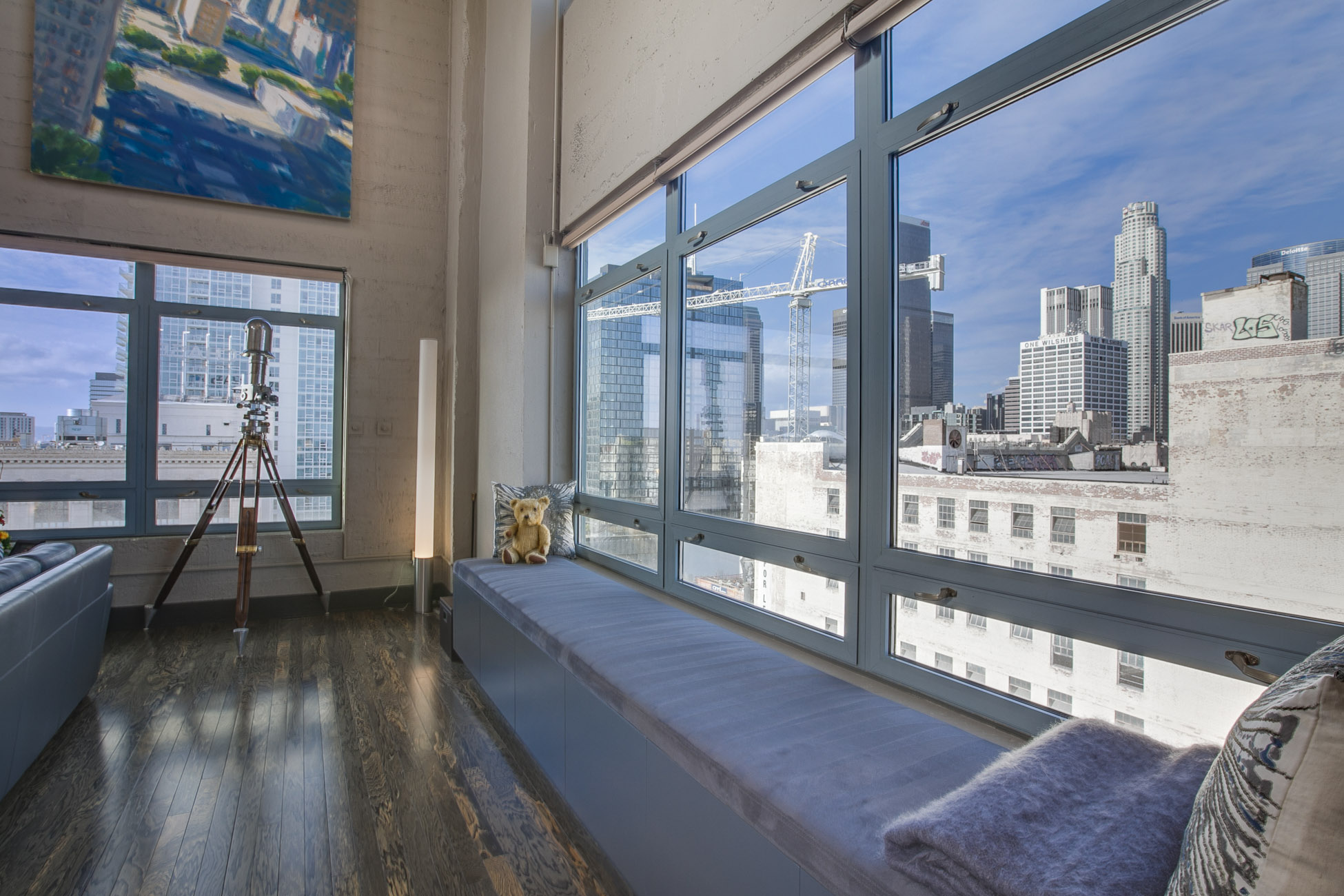 Big Eastern Columbia loft with brilliant views lists for $3.98M ...