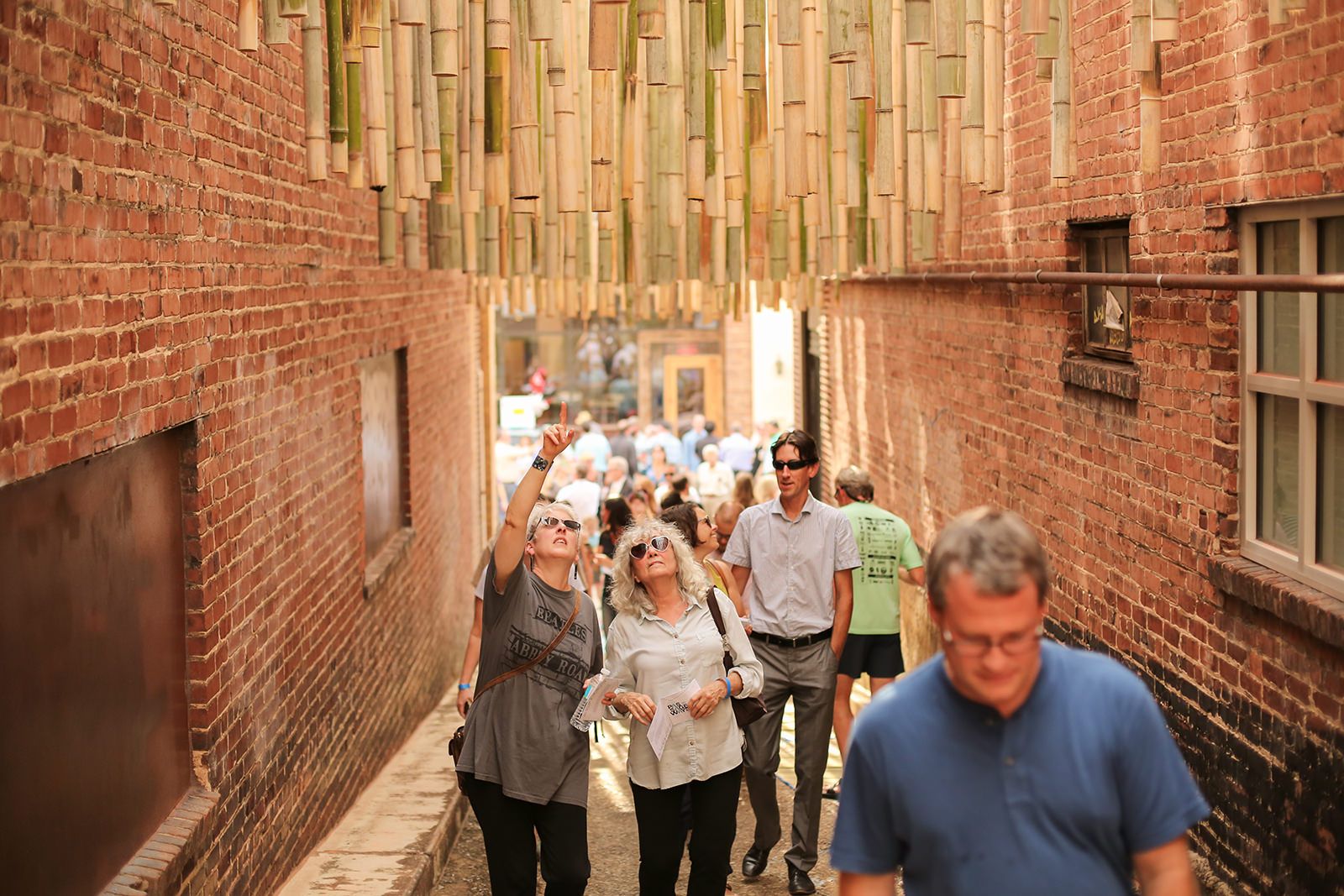 Chattanooga's forgotten alleyways come back to life with architectural installations