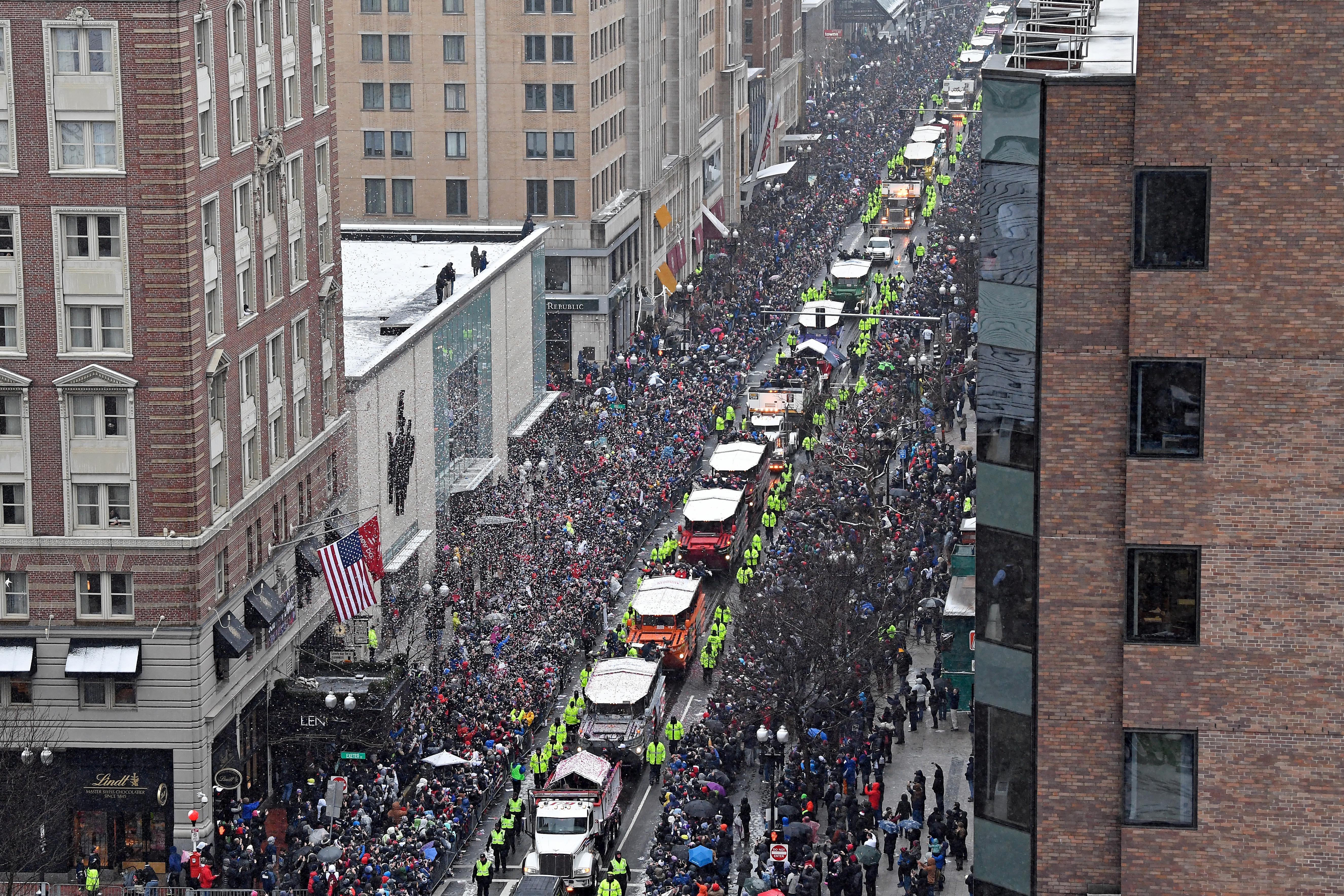 NFL: Super Bowl LI Champions-New England Patriots Parade