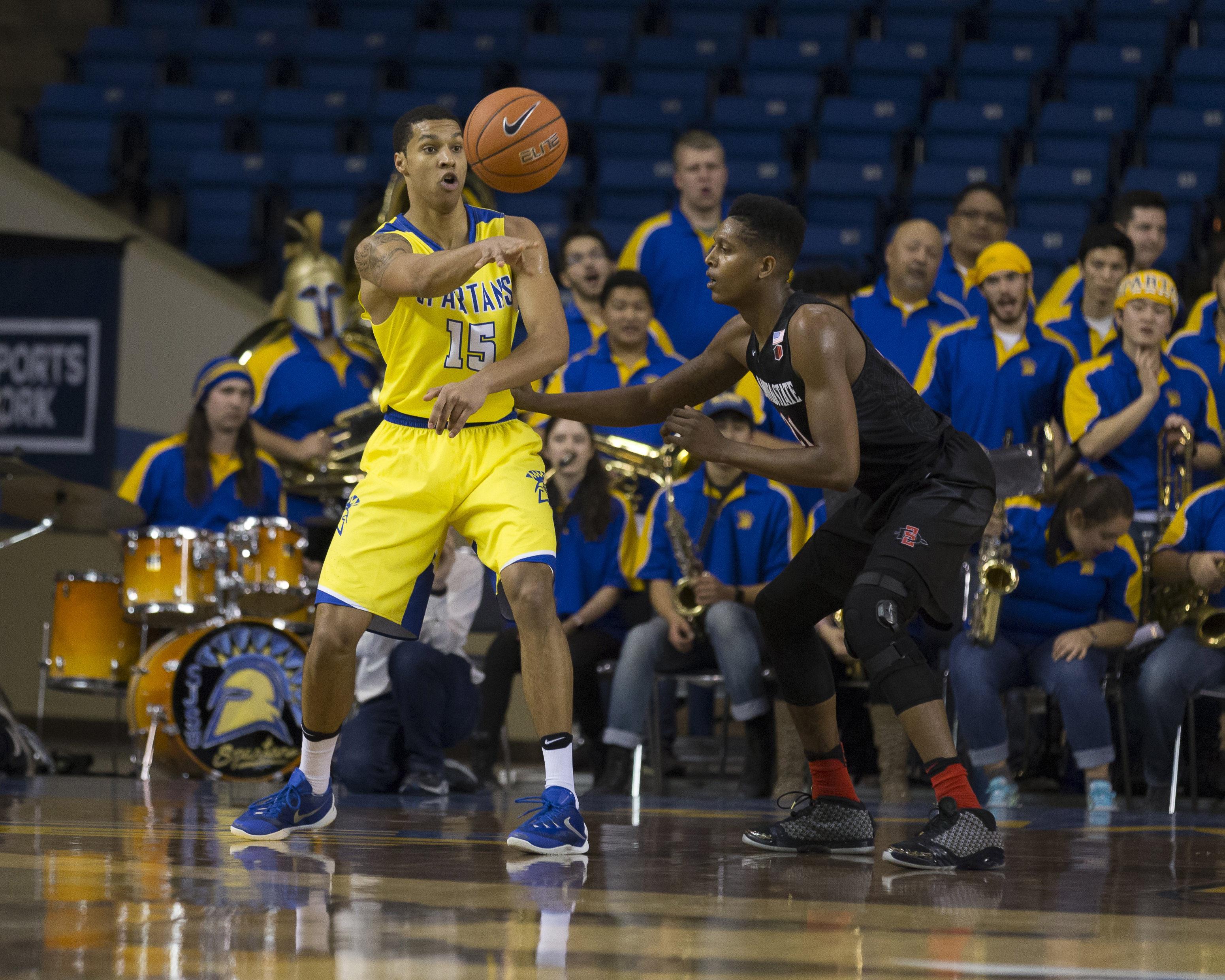 NCAA Basketball: San Diego State at San Jose State