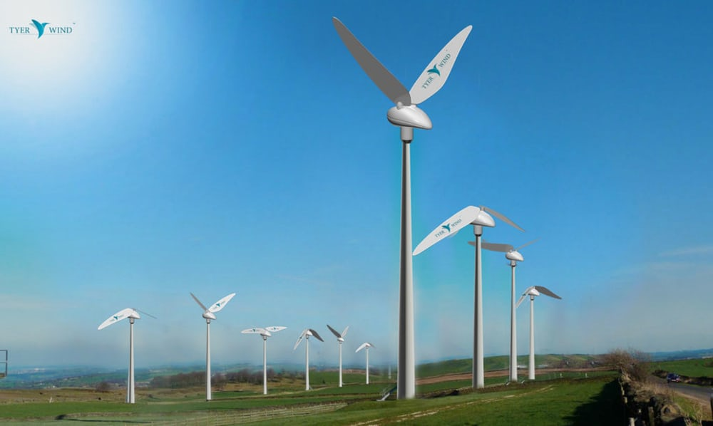 Eerie wind turbine prototype flaps its wings like hummingbirds