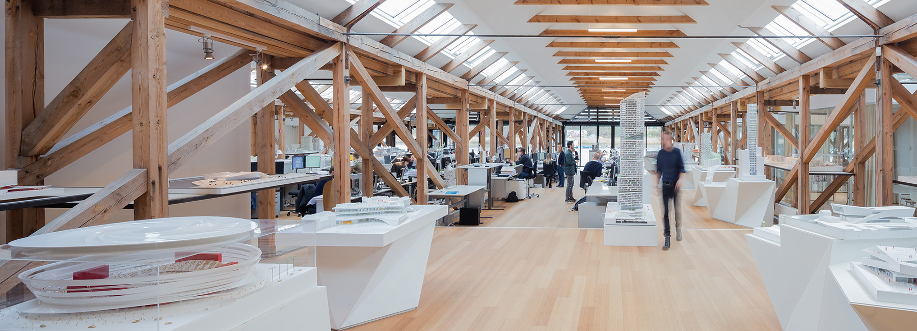 An inside look at the offices of Zaha Hadid, Renzo Piano, and more