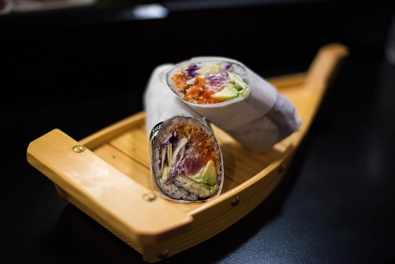 New Sushi burrito
