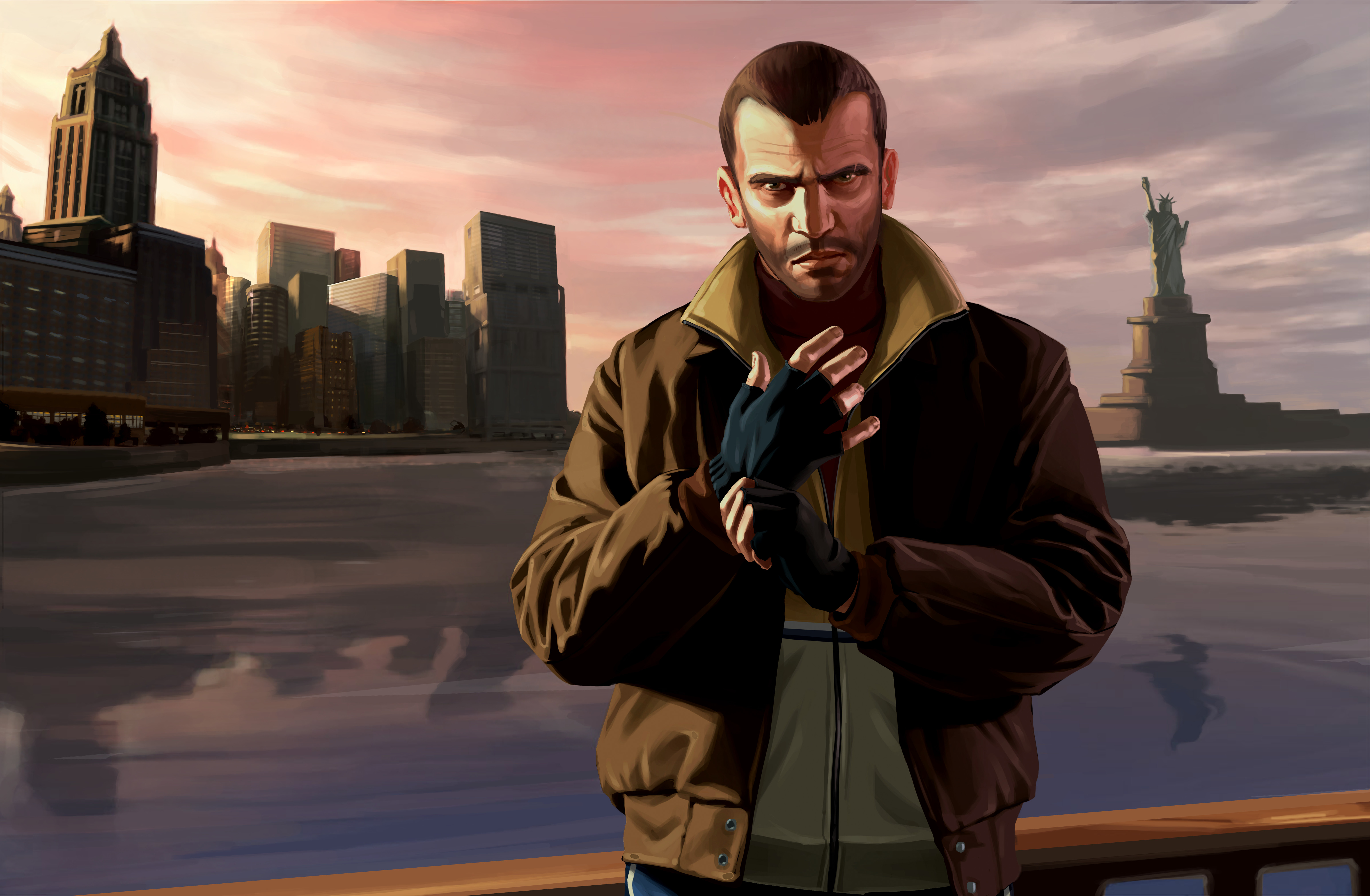 Grand Theft Auto IV is now backward compatible with Xbox One