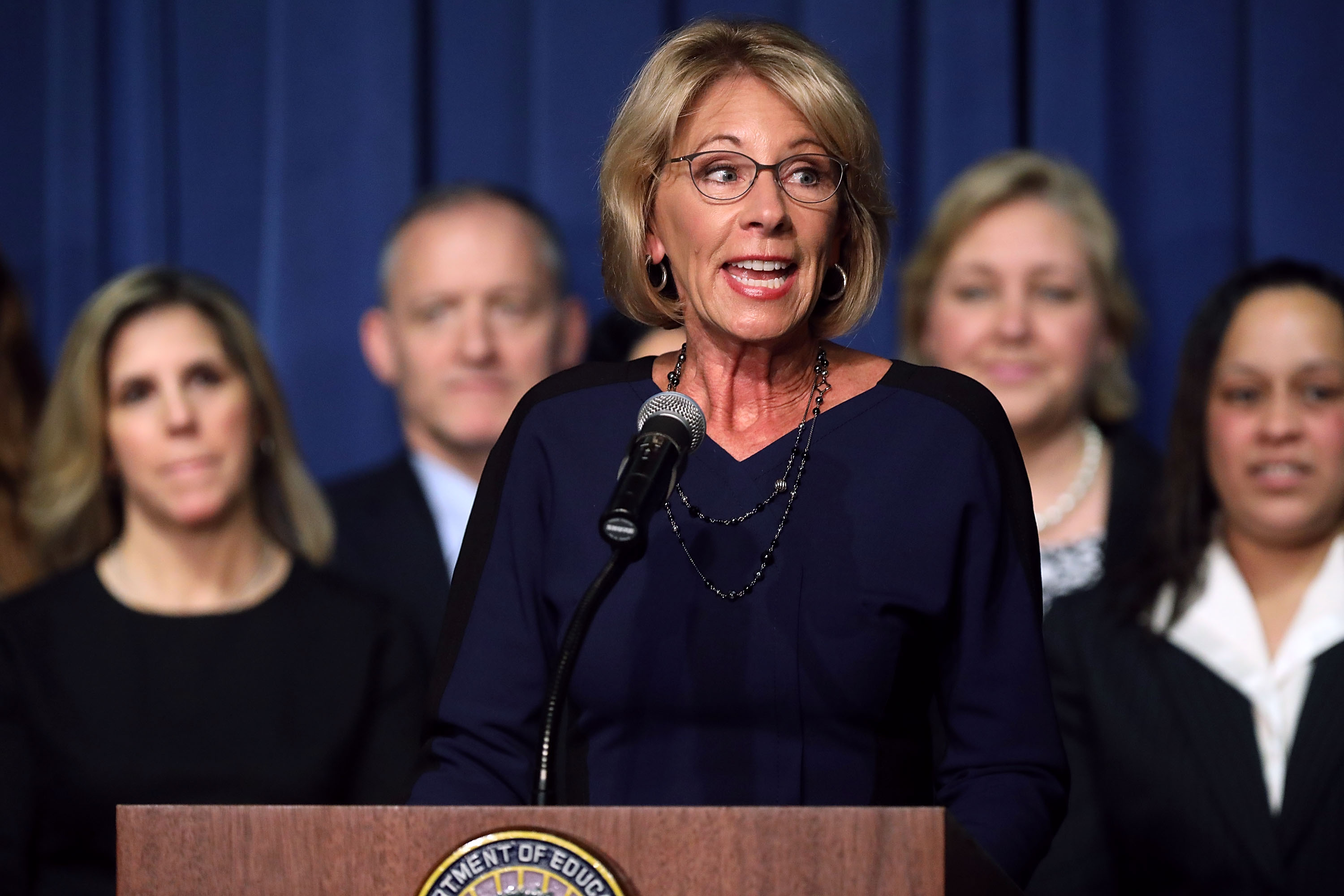 A comprehensive list of what Betsy DeVos can — and can't — do next