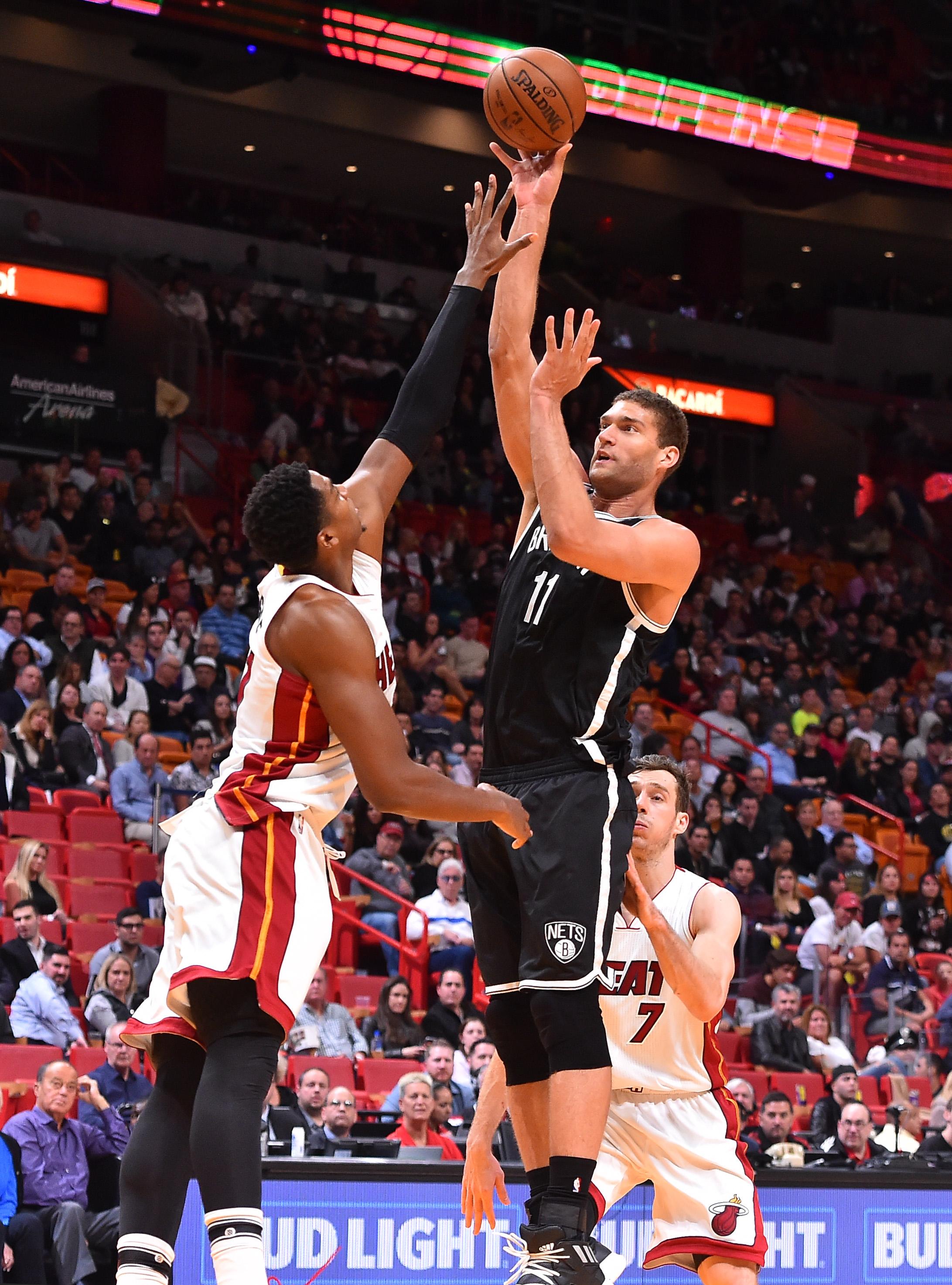 NBA: Brooklyn Nets at Miami Heat