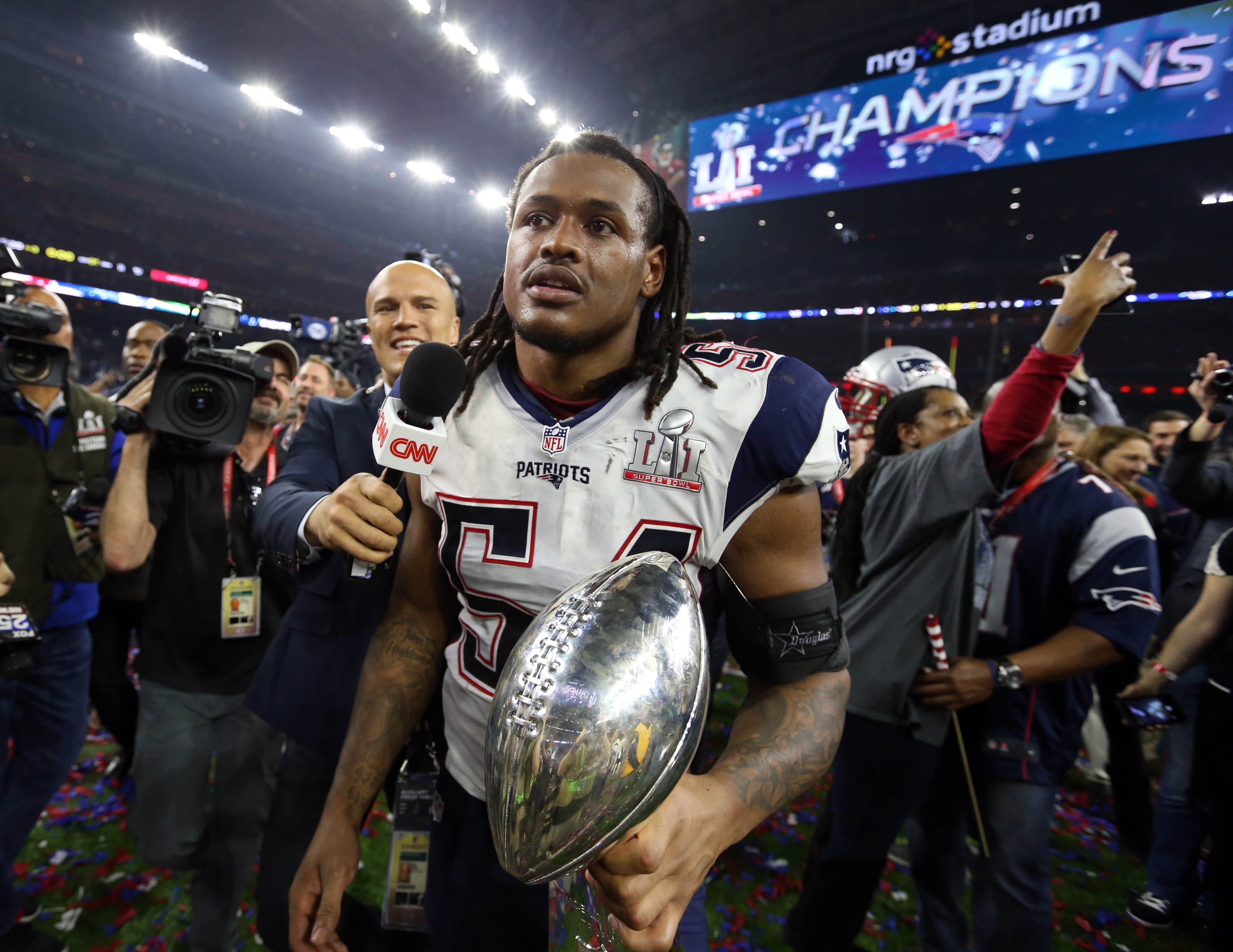 Dont'a Hightower has been the Patriots' unsung hero for 2 Super Bowls