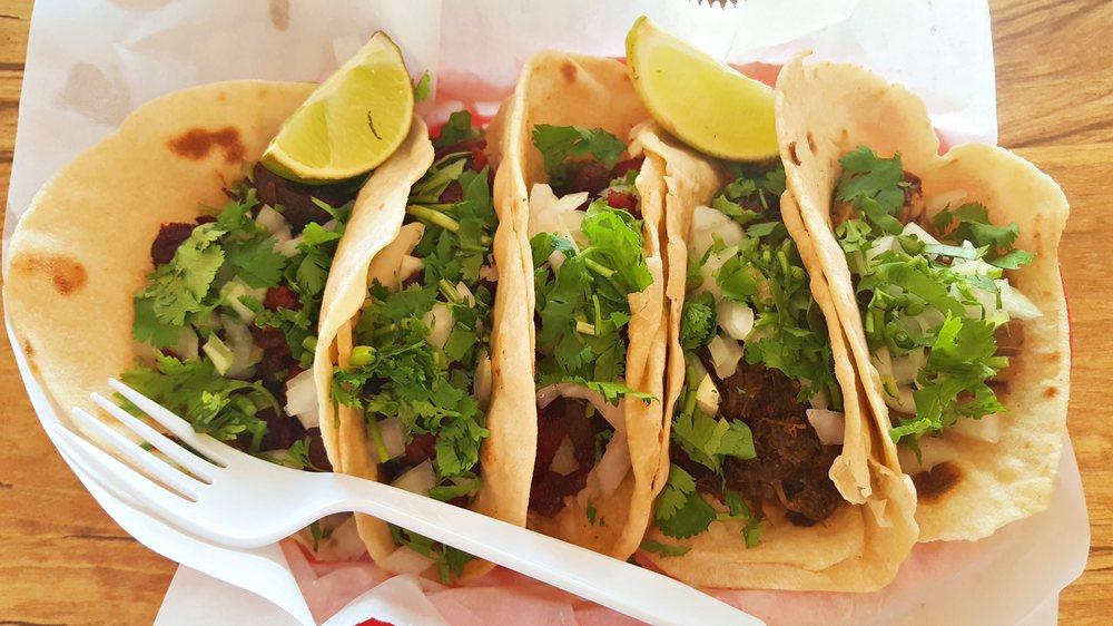 Tacos from Rosita's Al Pastor