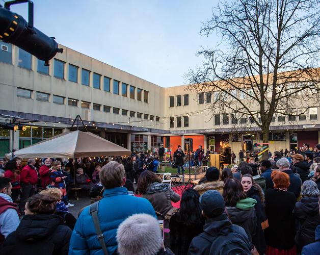 prison turned cultural hub in Amsterdam