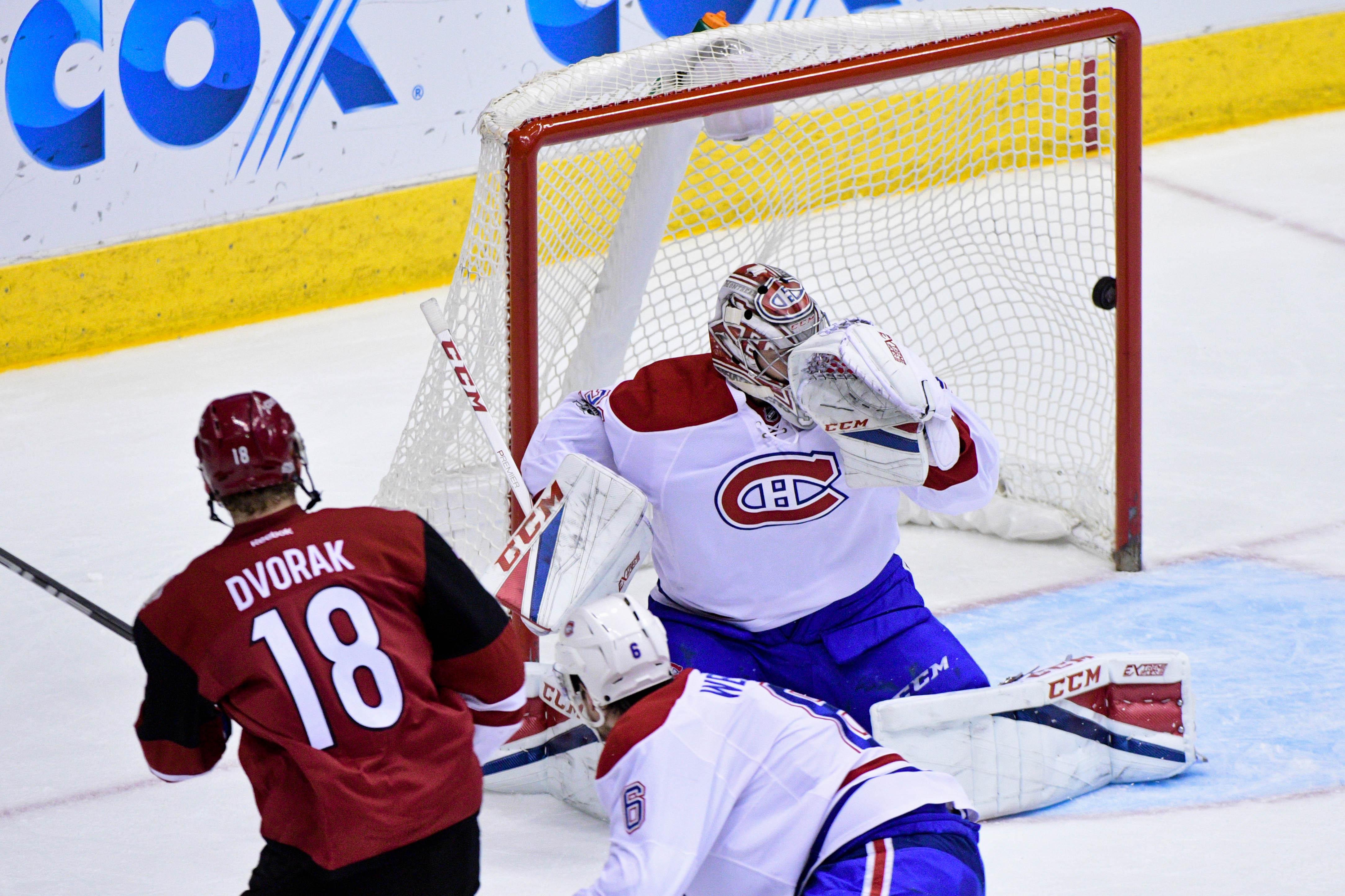 NHL: Montreal Canadiens at Arizona Coyotes