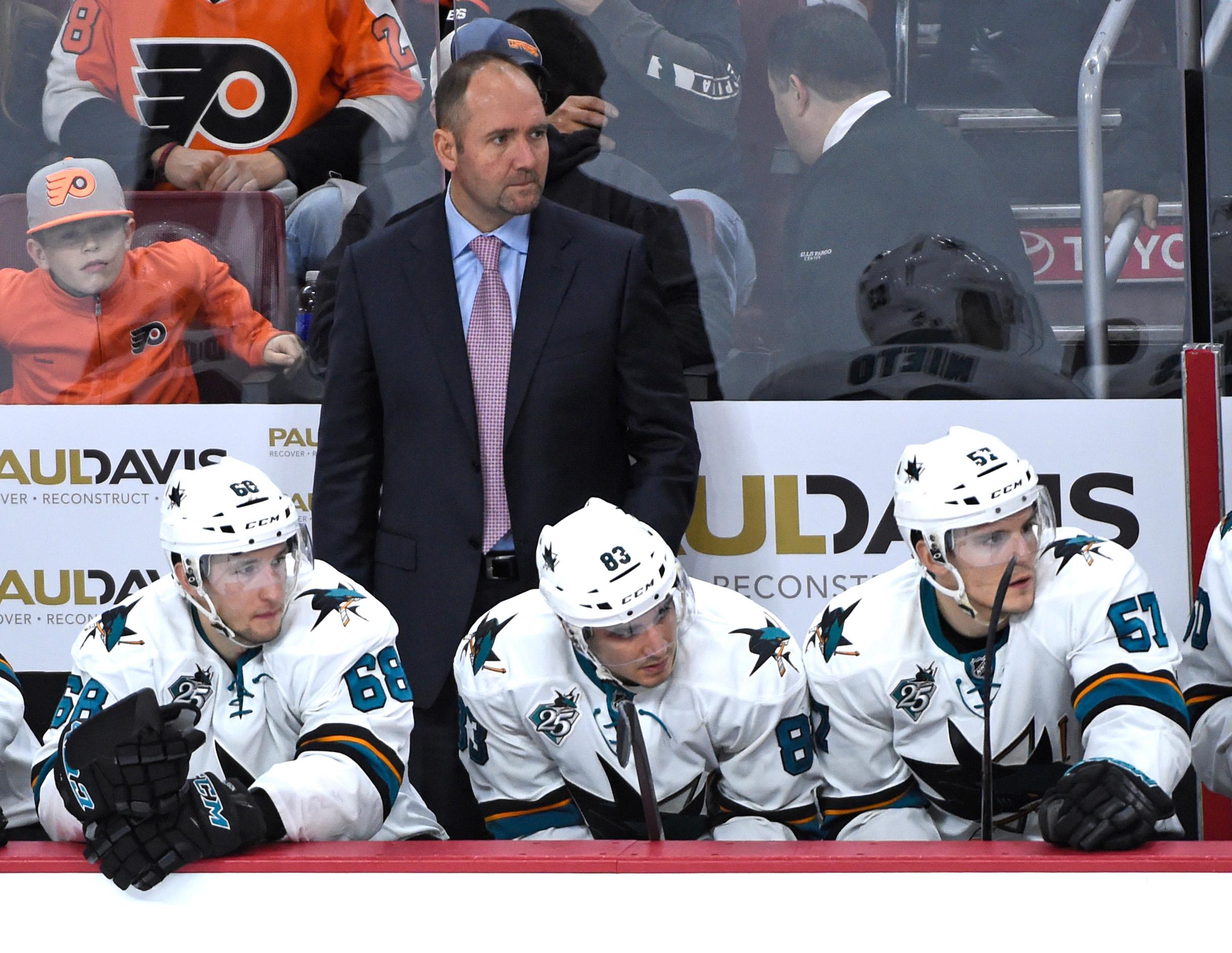 NHL: San Jose Sharks at Philadelphia Flyers