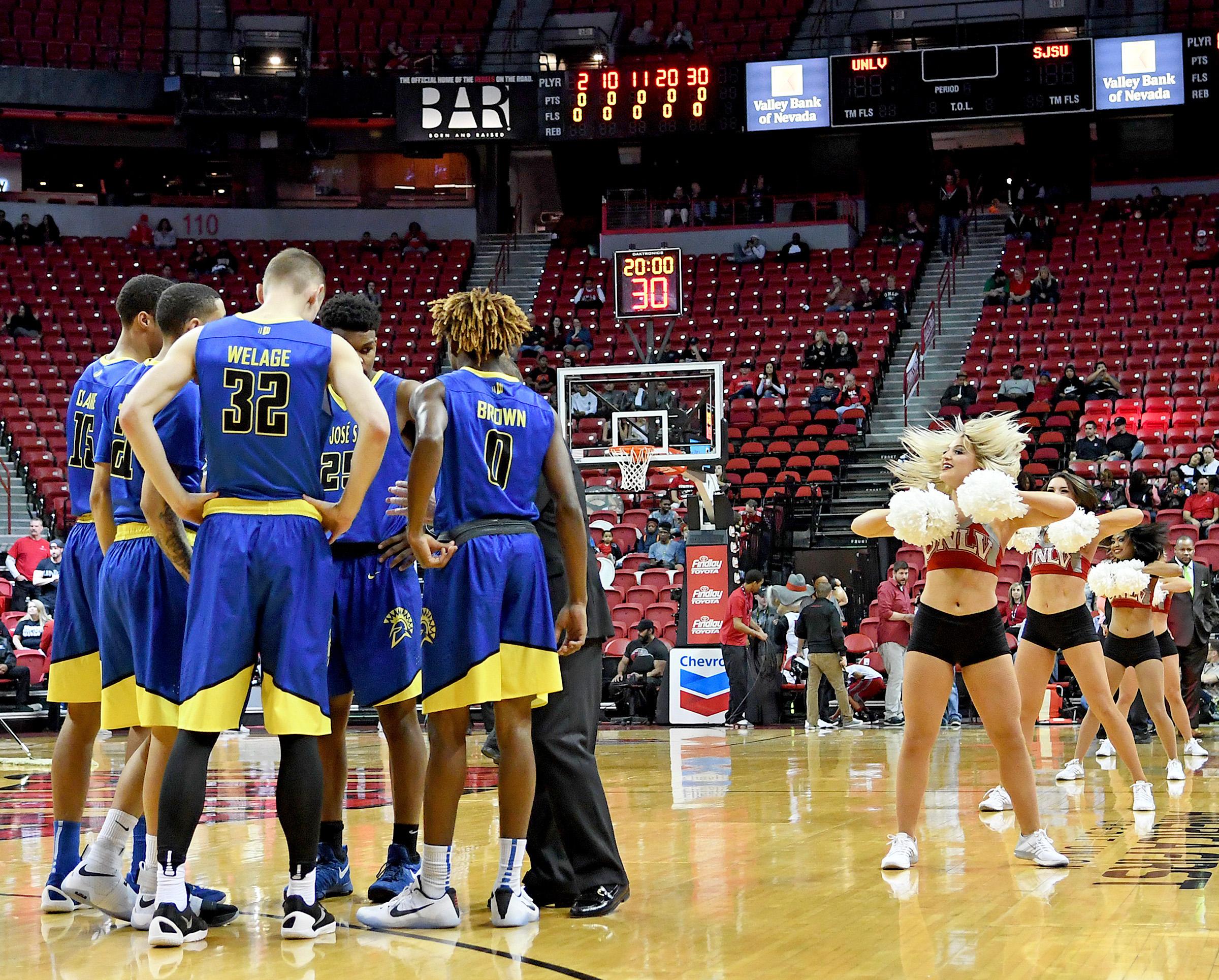 NCAA Basketball: San Jose State at UNLV