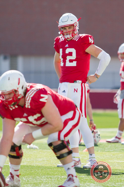 Nebraska newcomer quarterback Patrick O'Brien