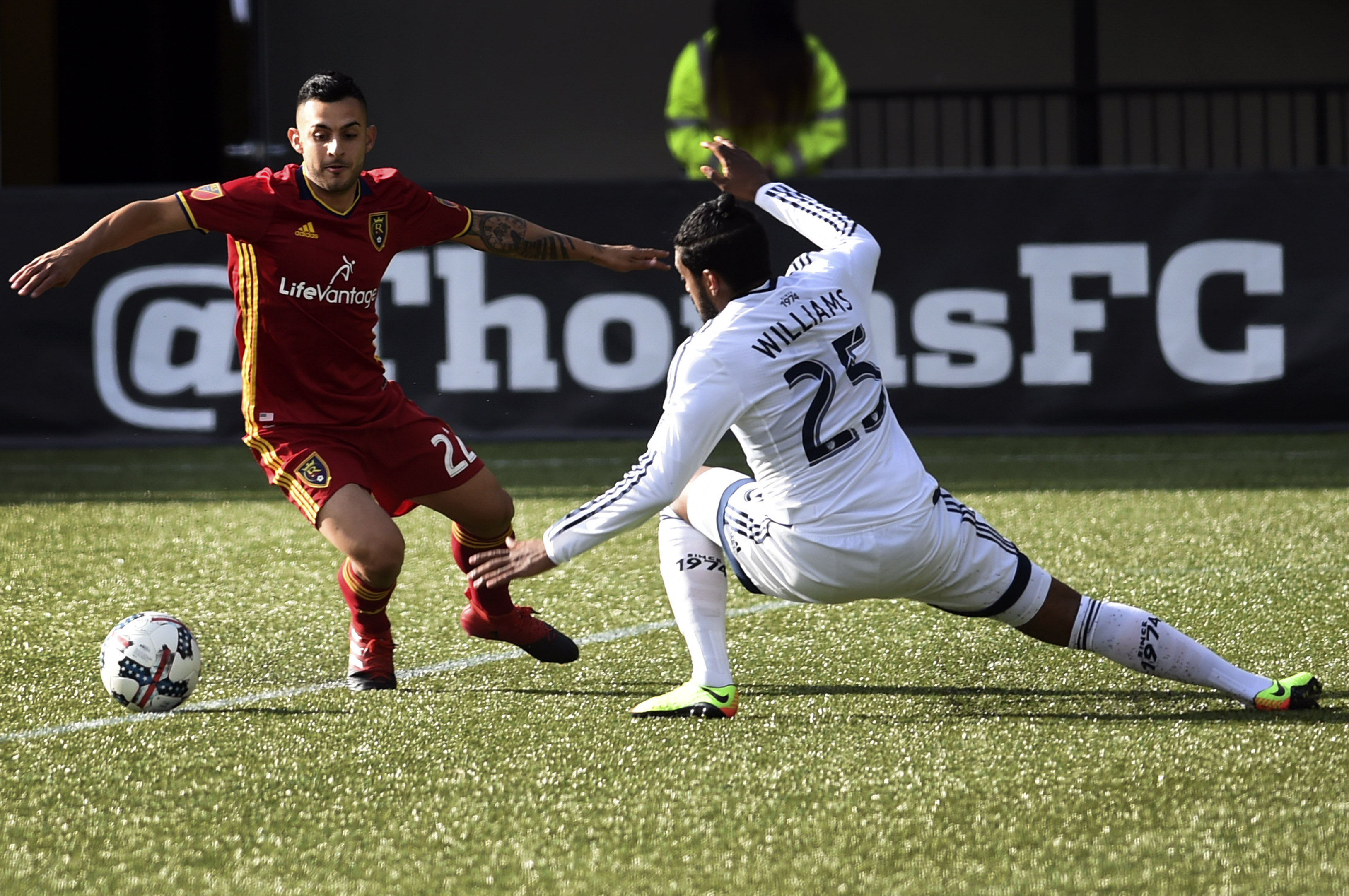 MLS: Vancouver Whitecaps vs Real Salt Lake