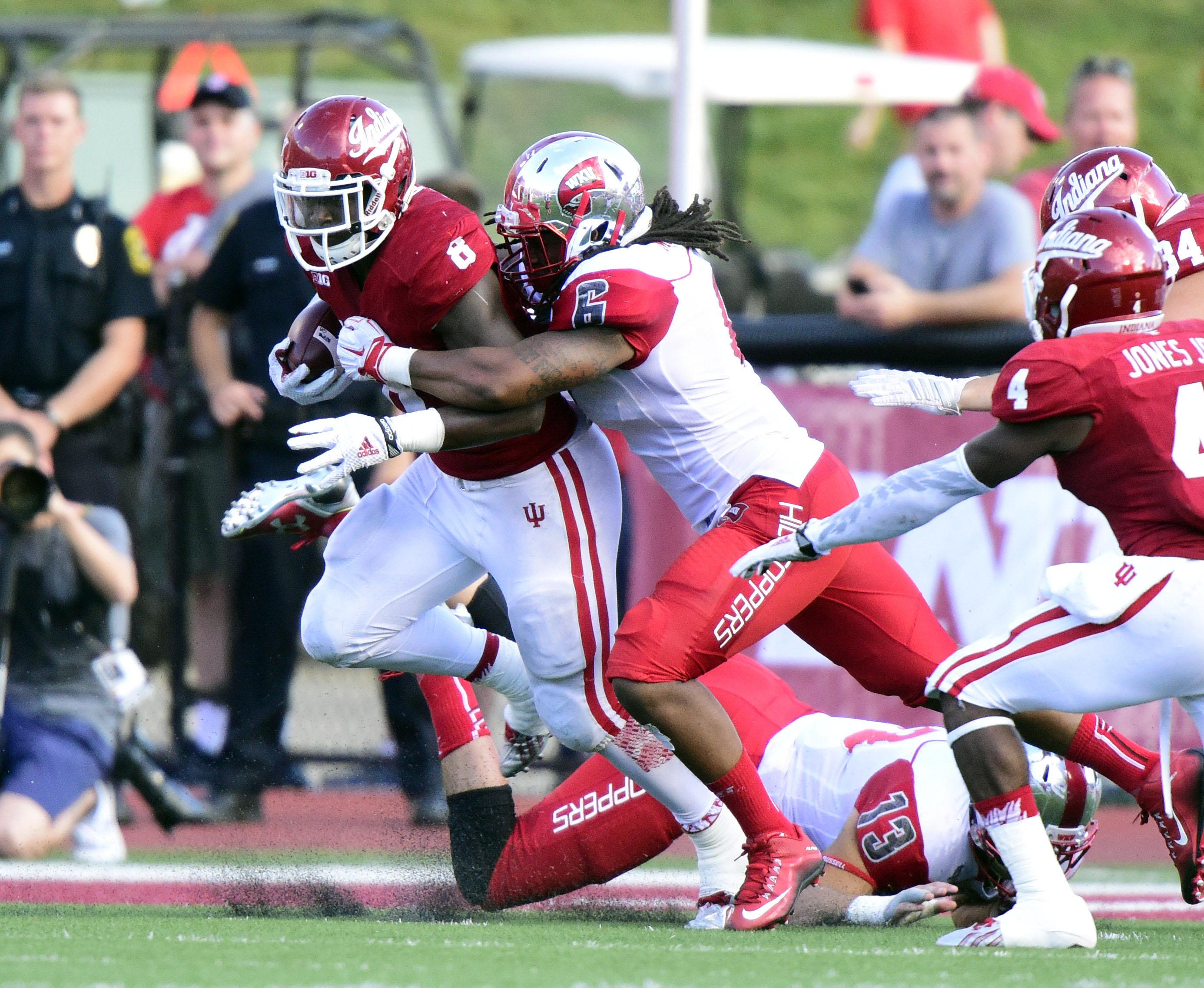 NCAA Football: Western Kentucky at Indiana
