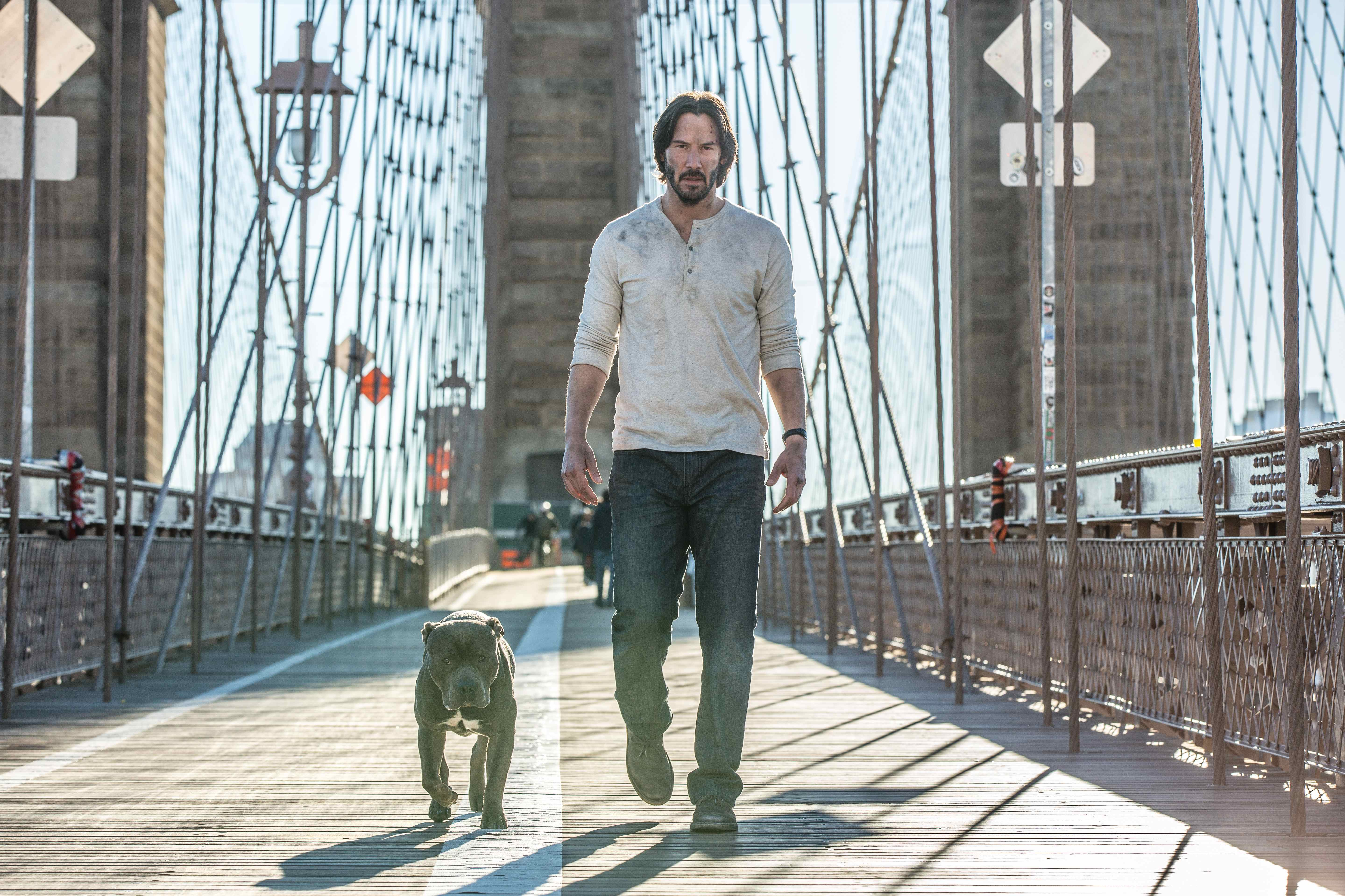 Why Keanu Reeves is a perfect action star