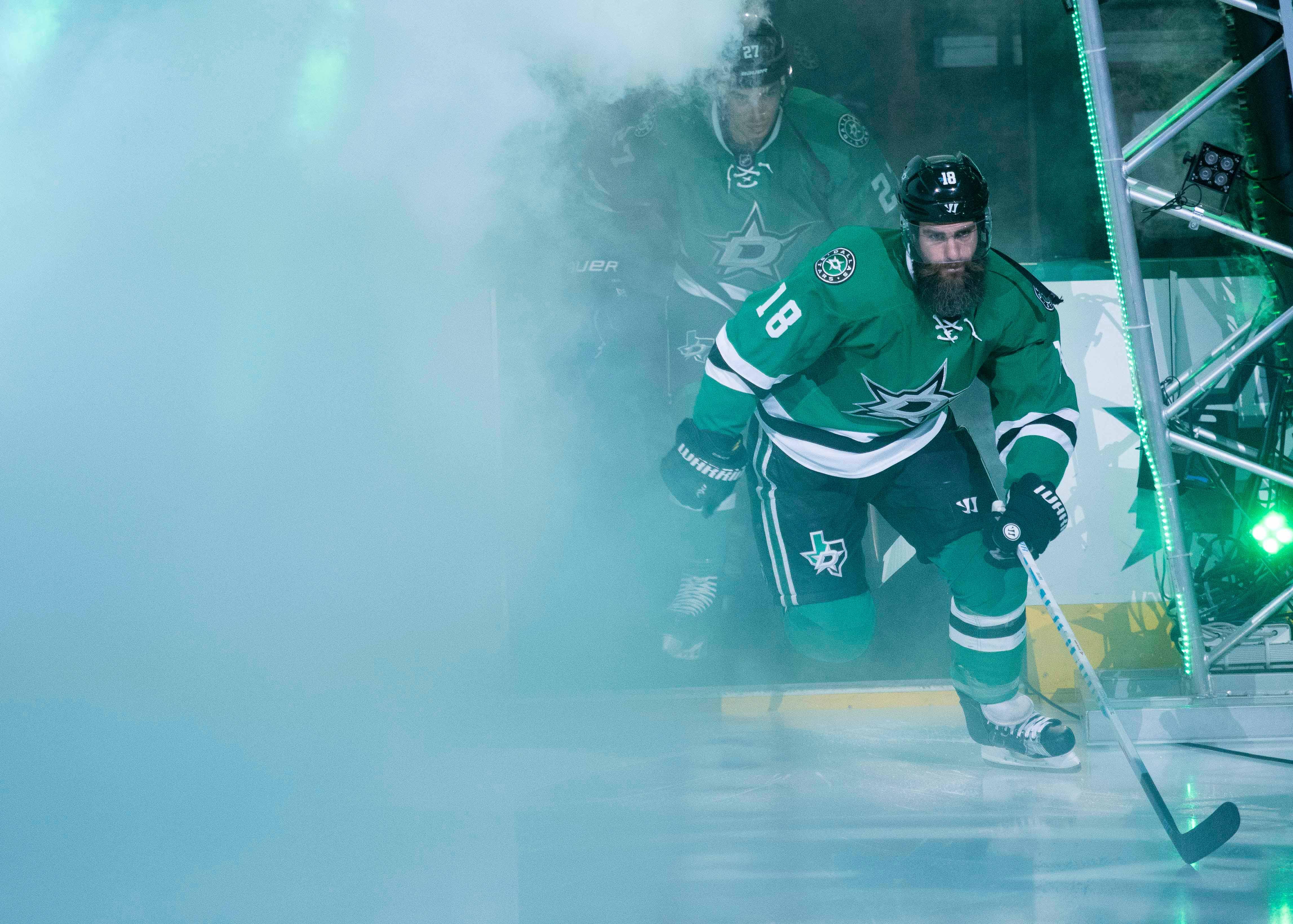 NHL: Chicago Blackhawks at Dallas Stars