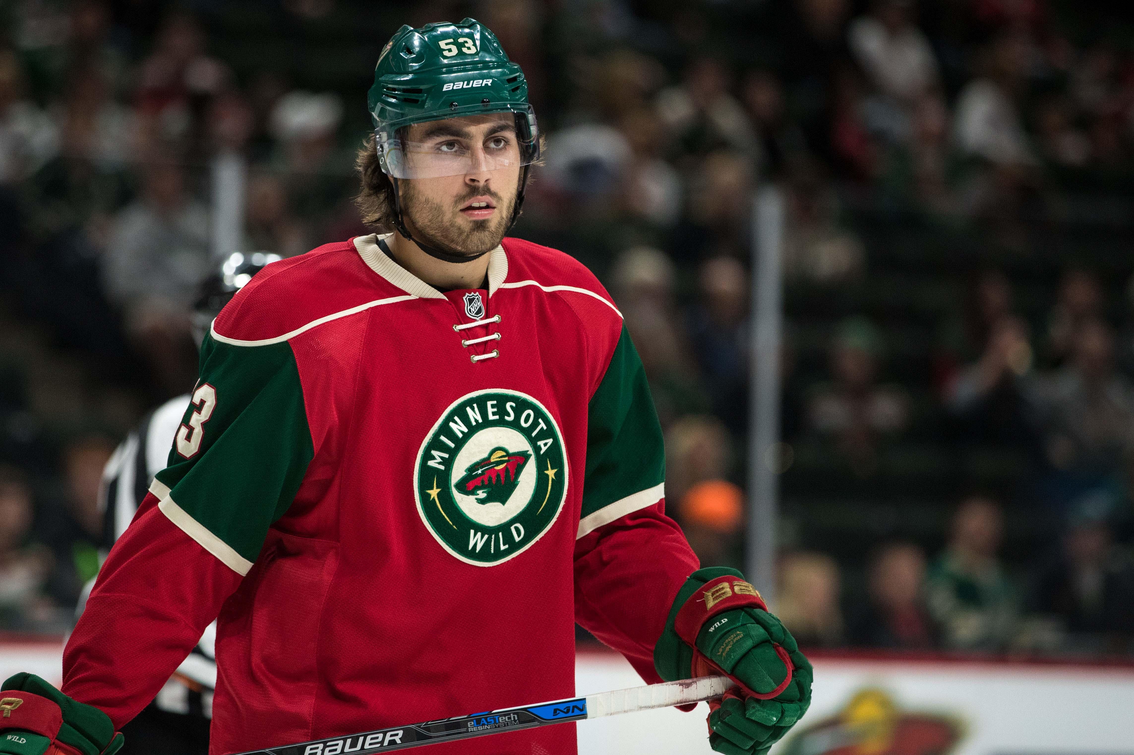 NHL: Preseason-Colorado Avalanche at Minnesota Wild