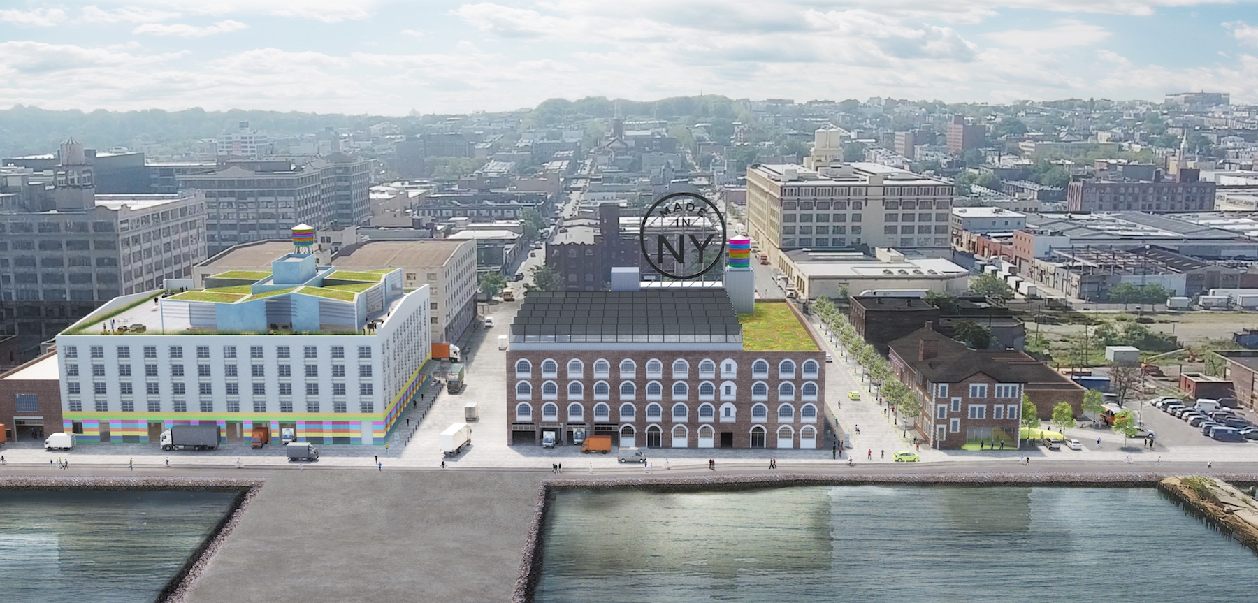 Sunset Park will become home to a sprawling hub for NYC's fashion industry