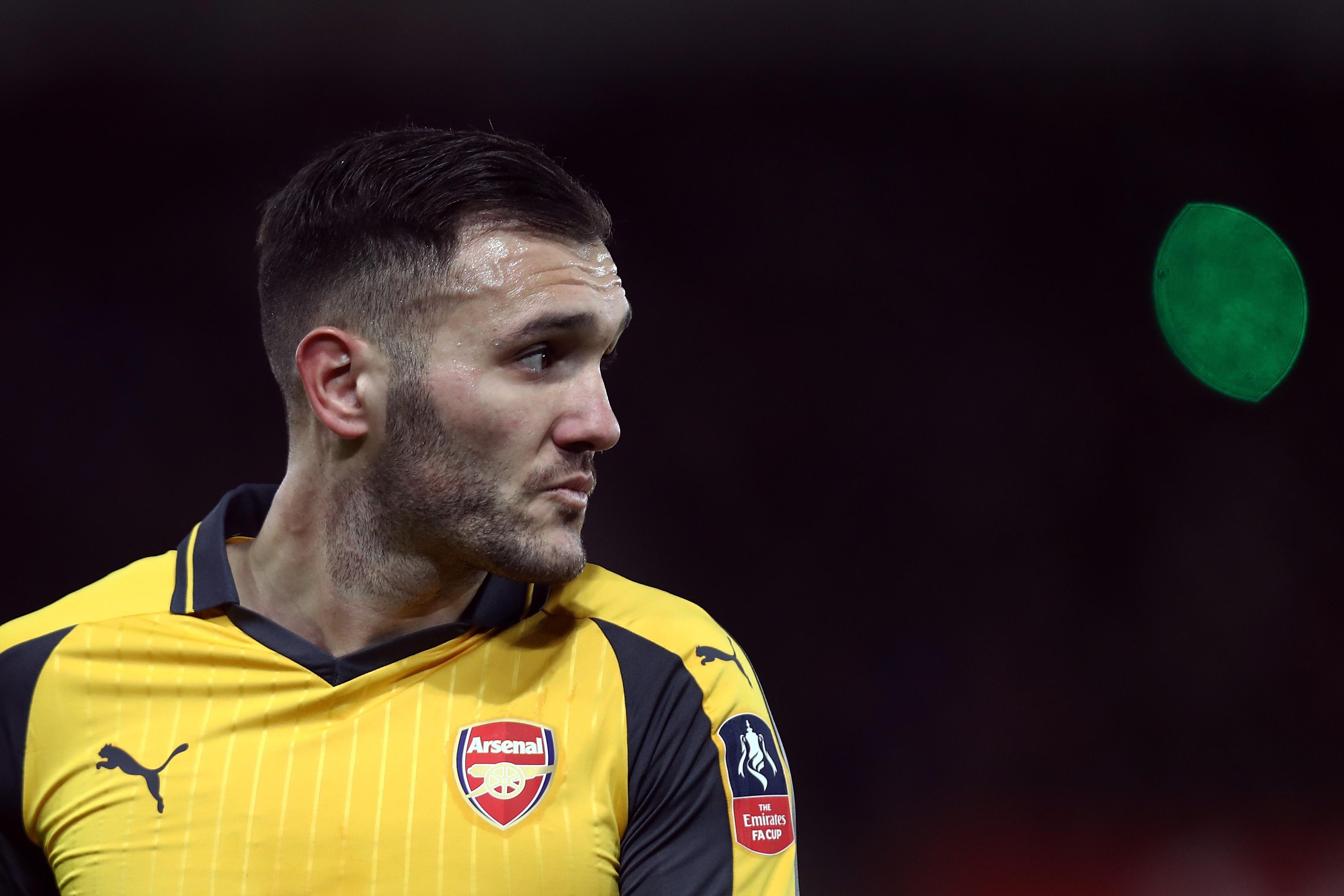 Arsenal ST Lucas Perez