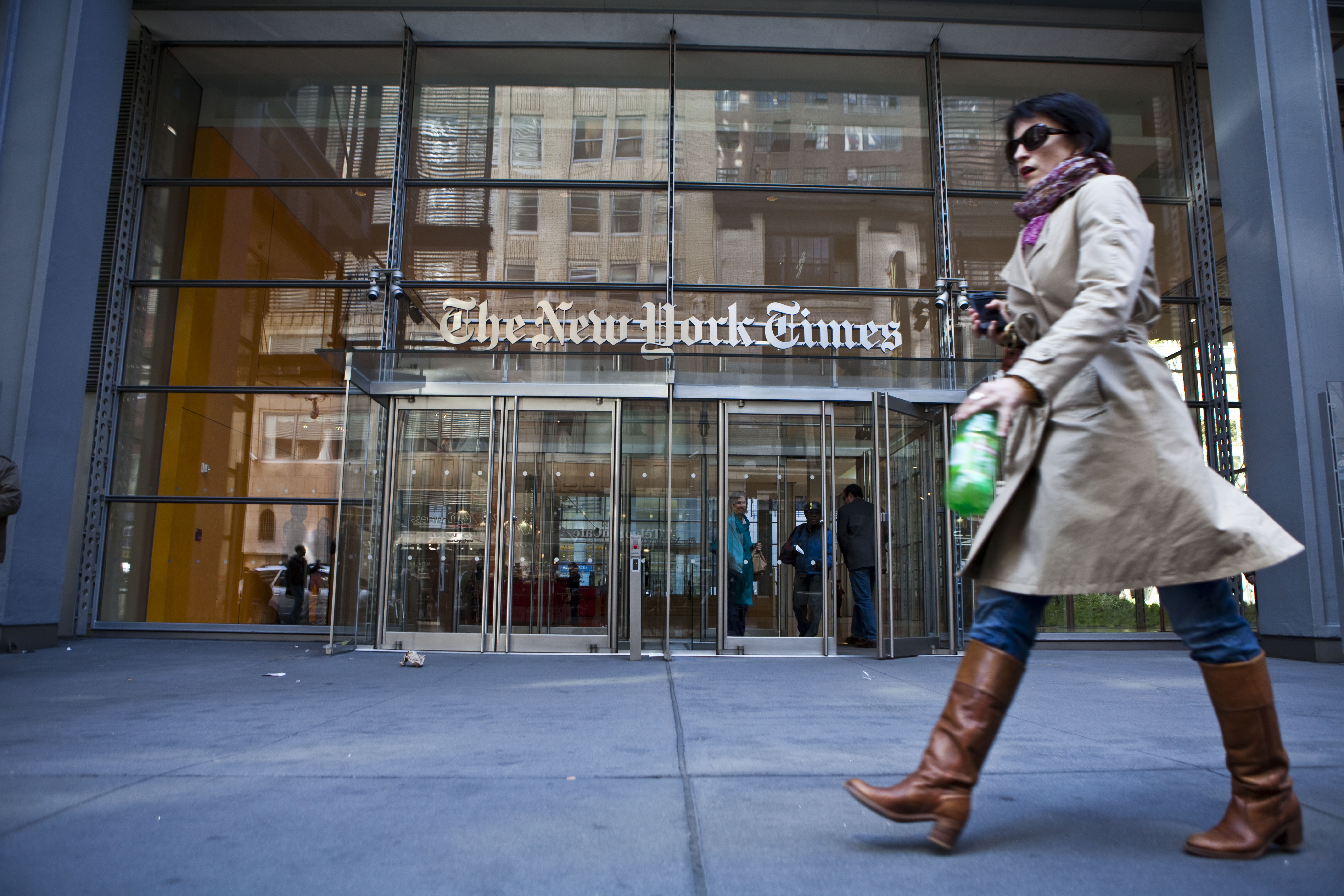 The New York Times wants to save itself by becoming like
