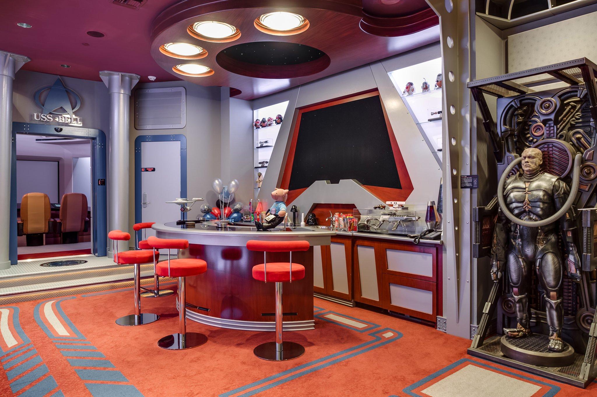 A Star Trek-inspired mansion in Boca Raton