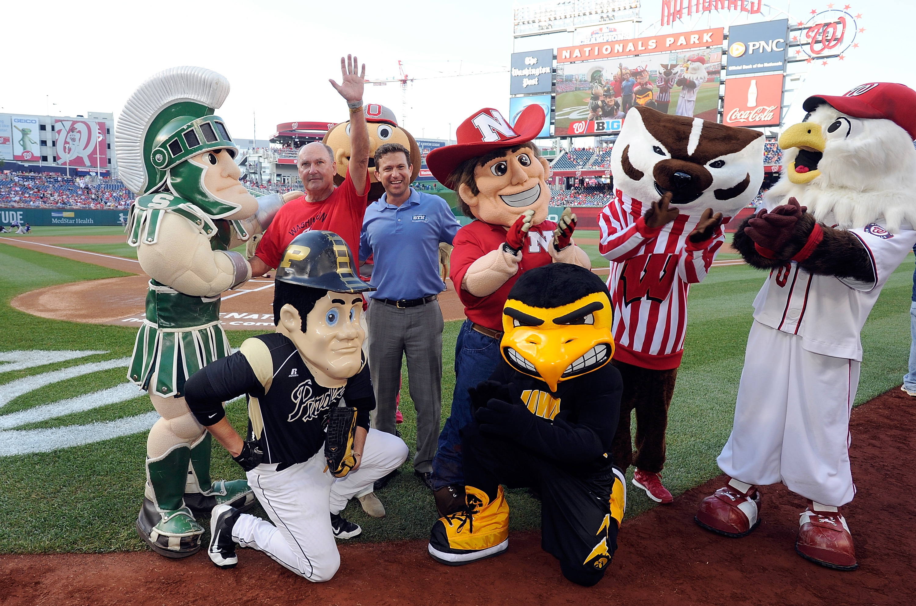 This is pretty much the only pic that shows up when searching for B1G baseball so get used to it
