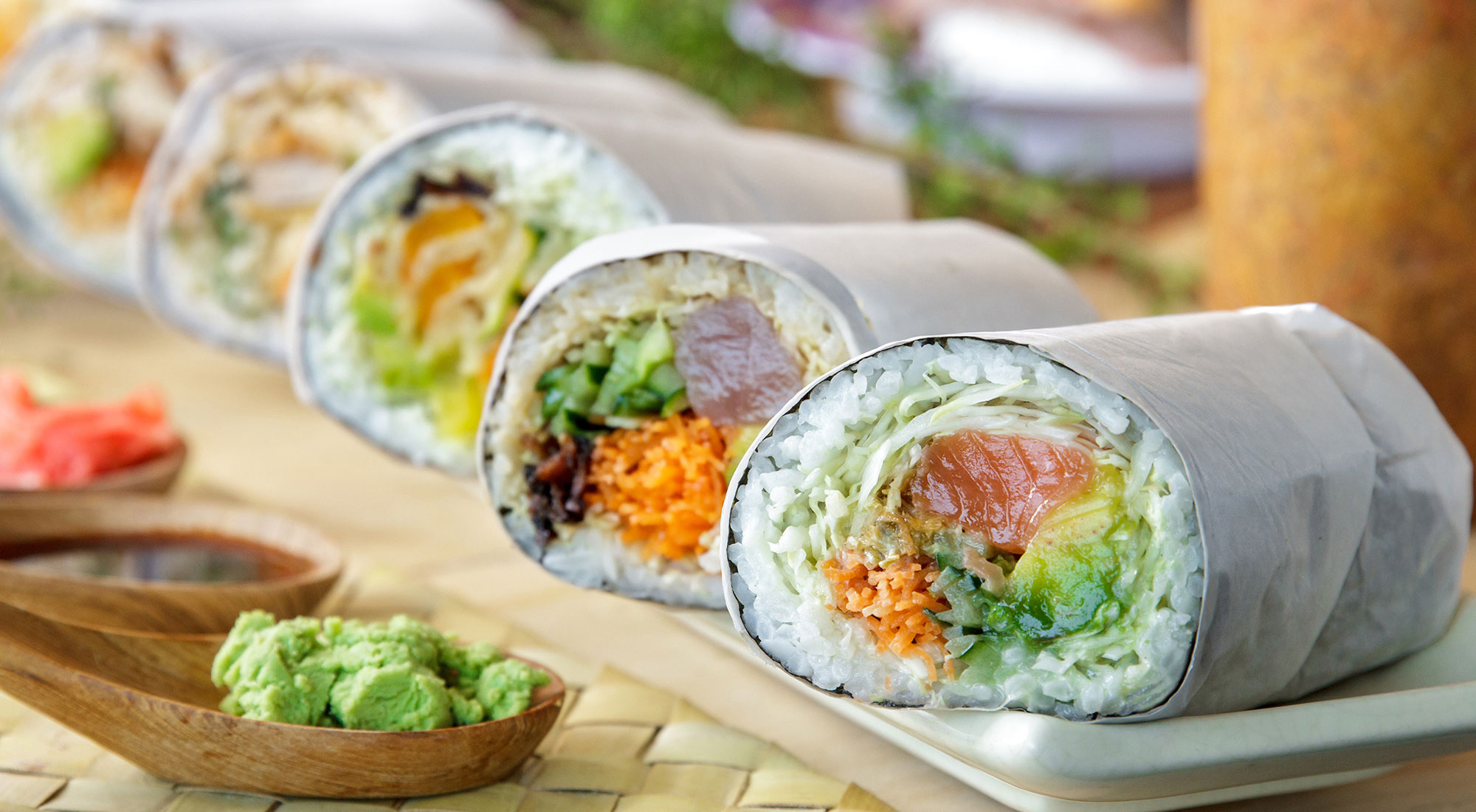 Sushi Burritos Will Soon Invade Houston