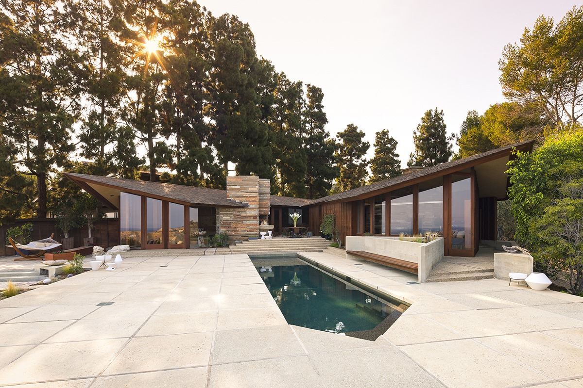Contemporary two story exterior in los angeles - Contemporary Two Story Exterior In Los Angeles 45