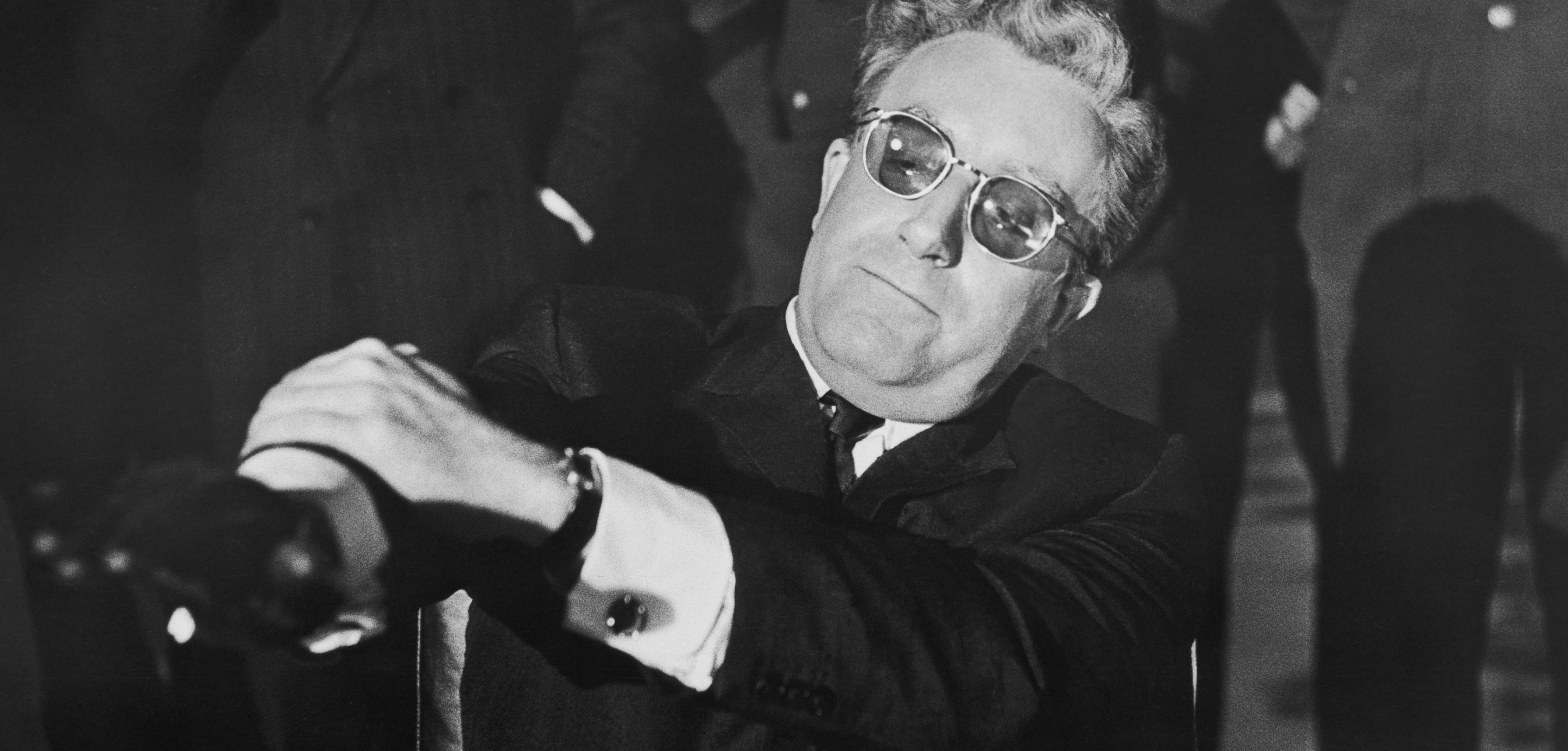 Peter Sellars played Dr. Strangelove in Kubrick's 1964 farce.