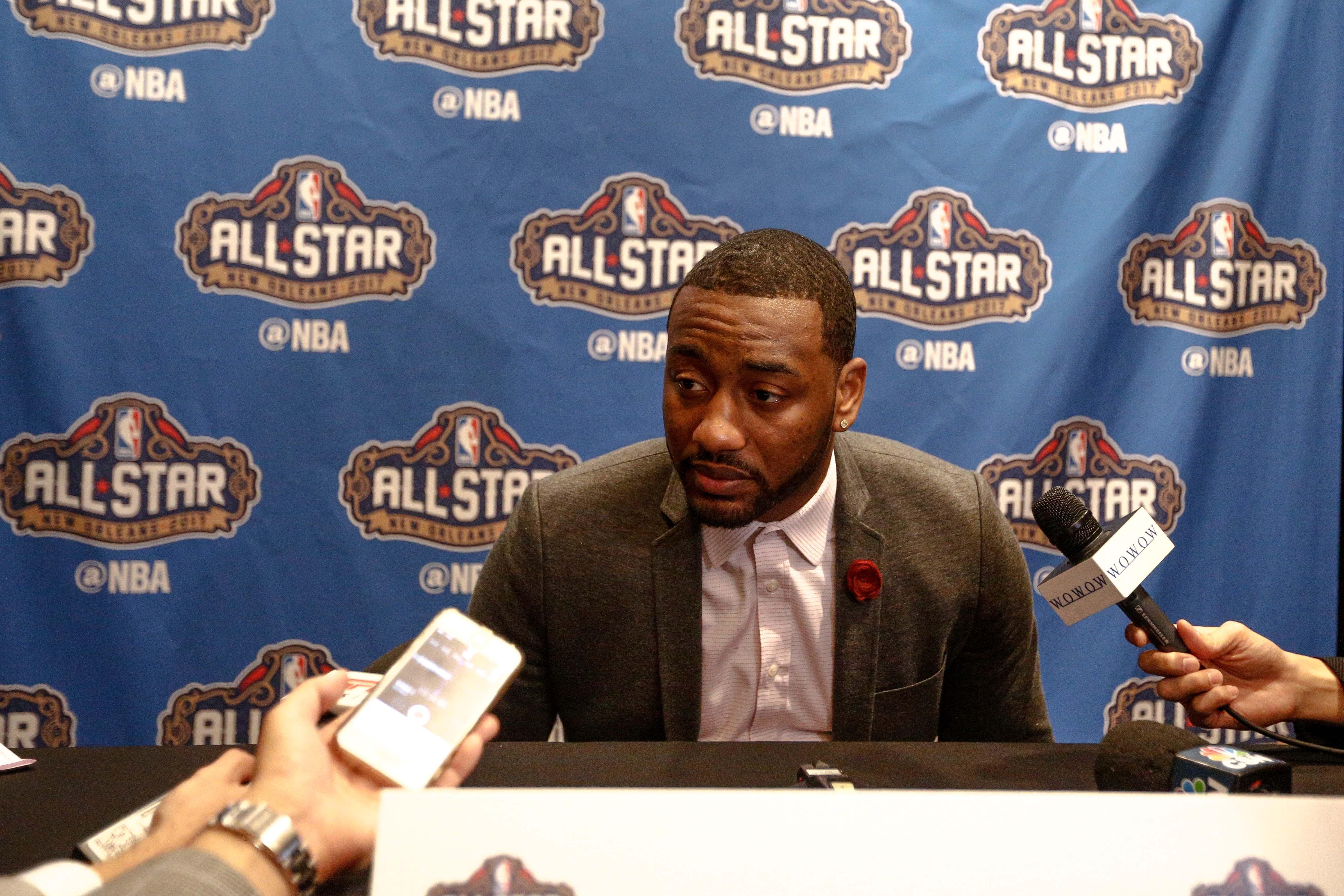 NBA: All Star Press Conference