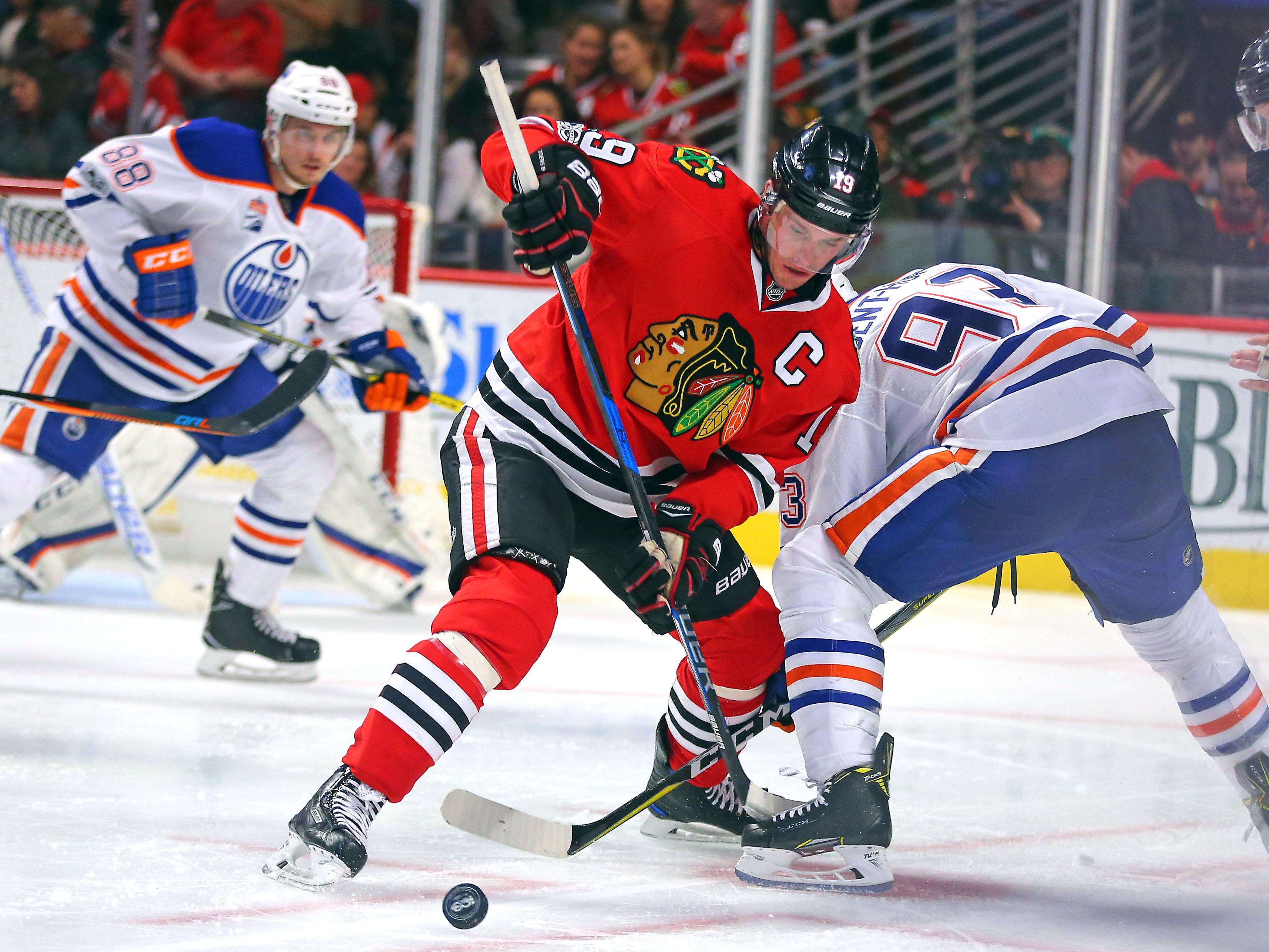 NHL: Edmonton Oilers at Chicago Blackhawks