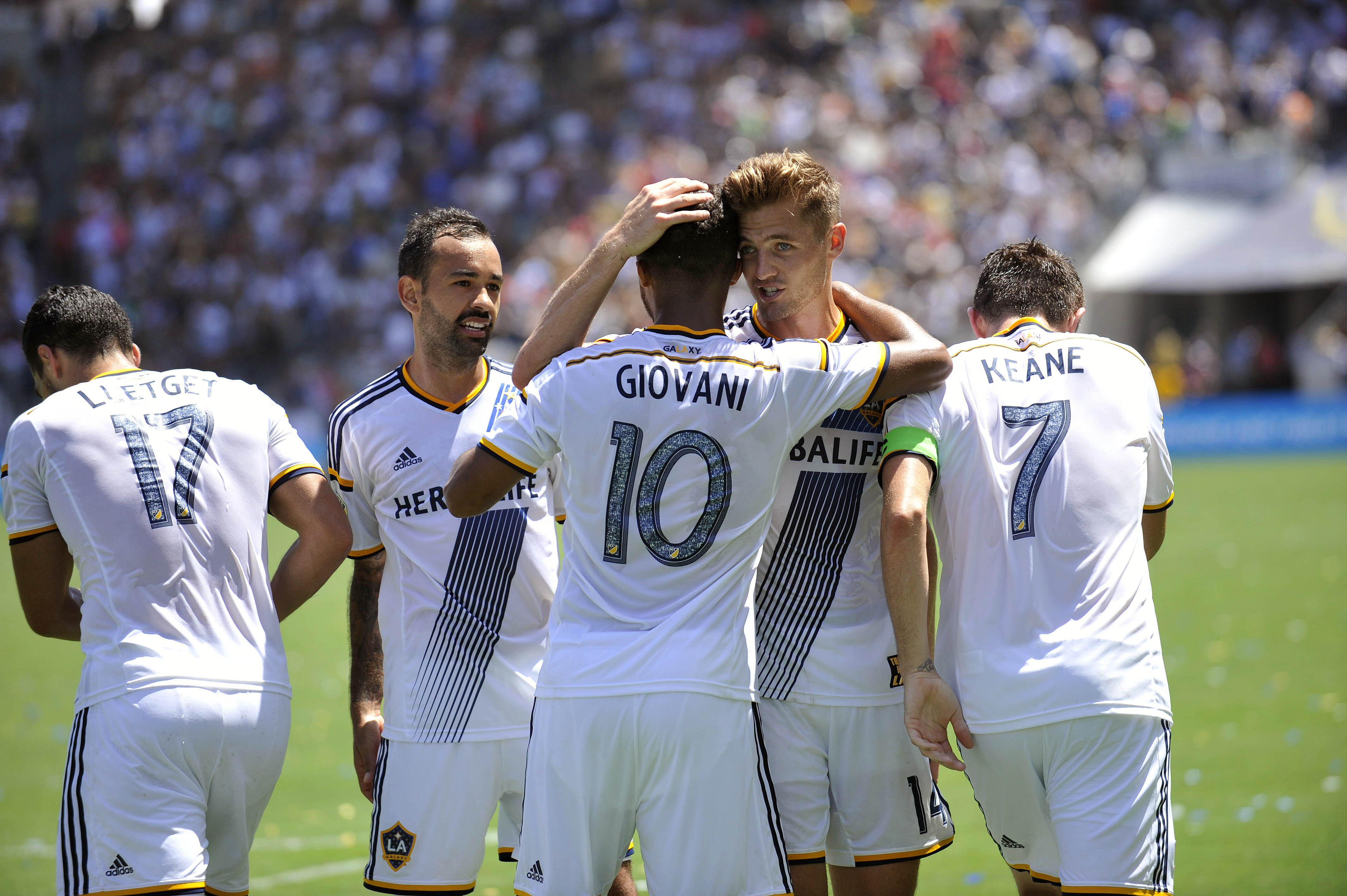 MLS: New York City FC at LA Galaxy