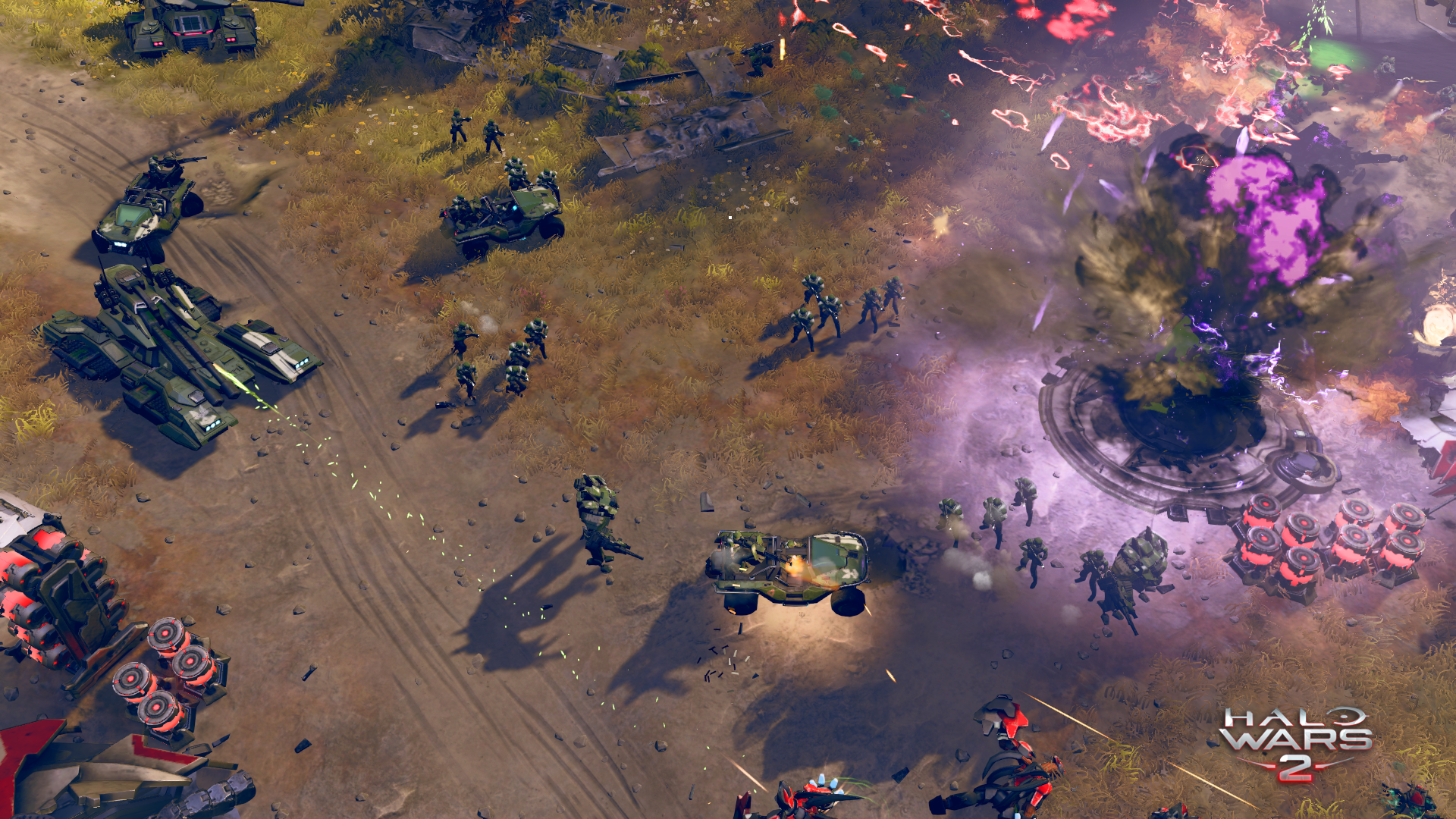 Halo Wars 2 is a real-time strategy game caught between console and