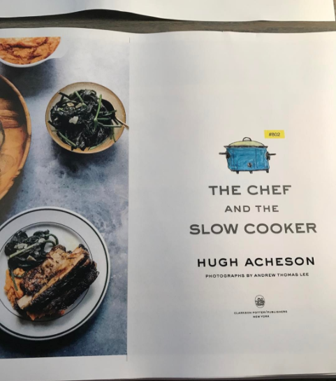 Title page from The Chef And The Slow Cooker