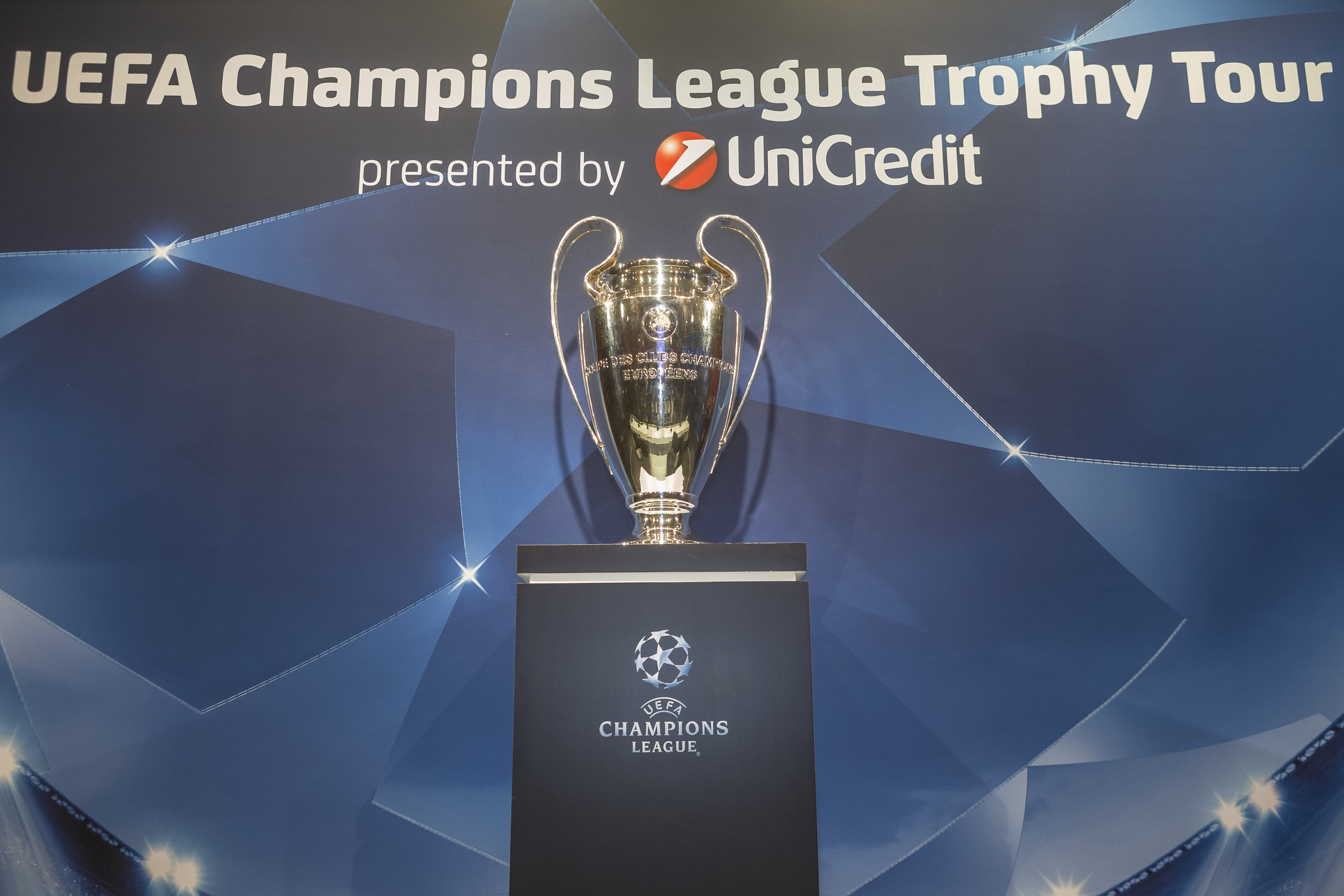UEFA Champions League Trophy Tour Vienna Presented by UniCredit